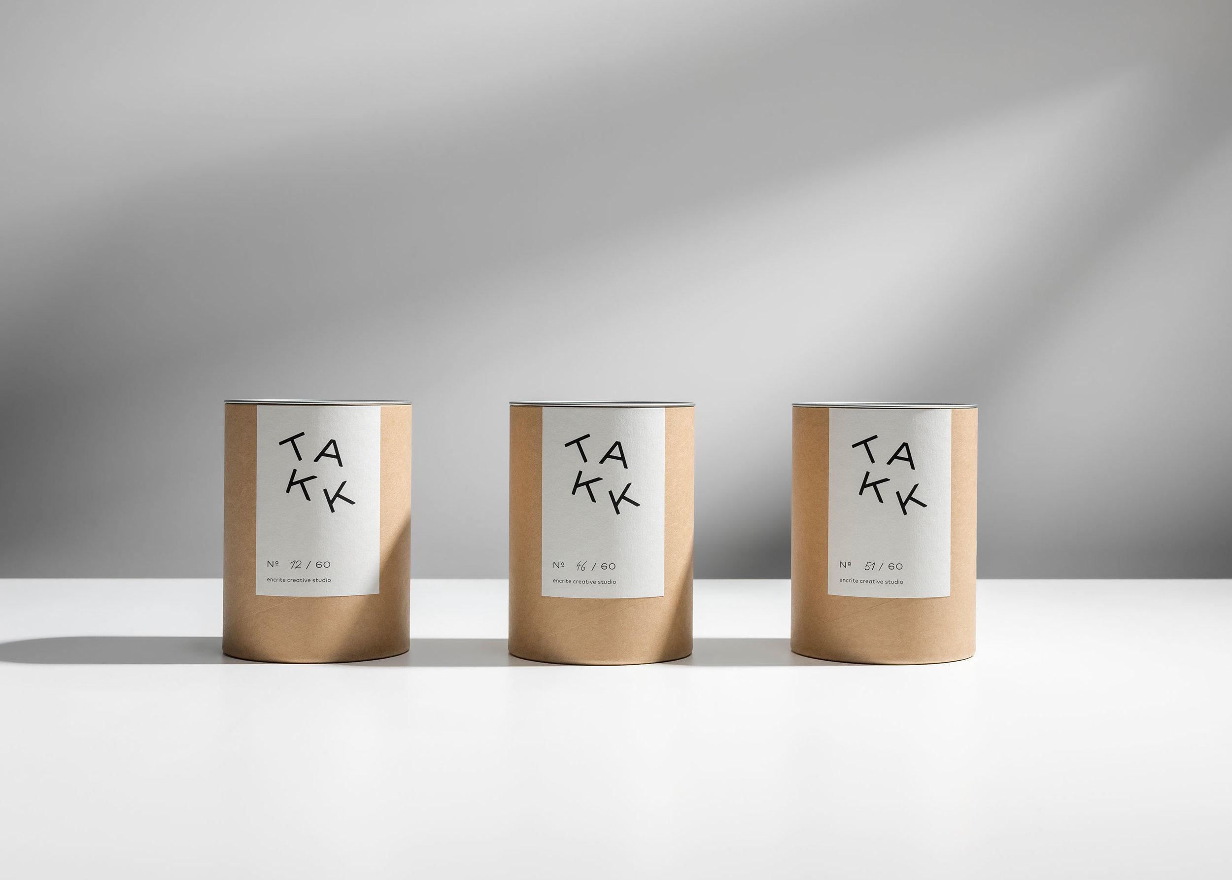 Takk Nordic Nature Scent Packaging Design / World Brand Design Society