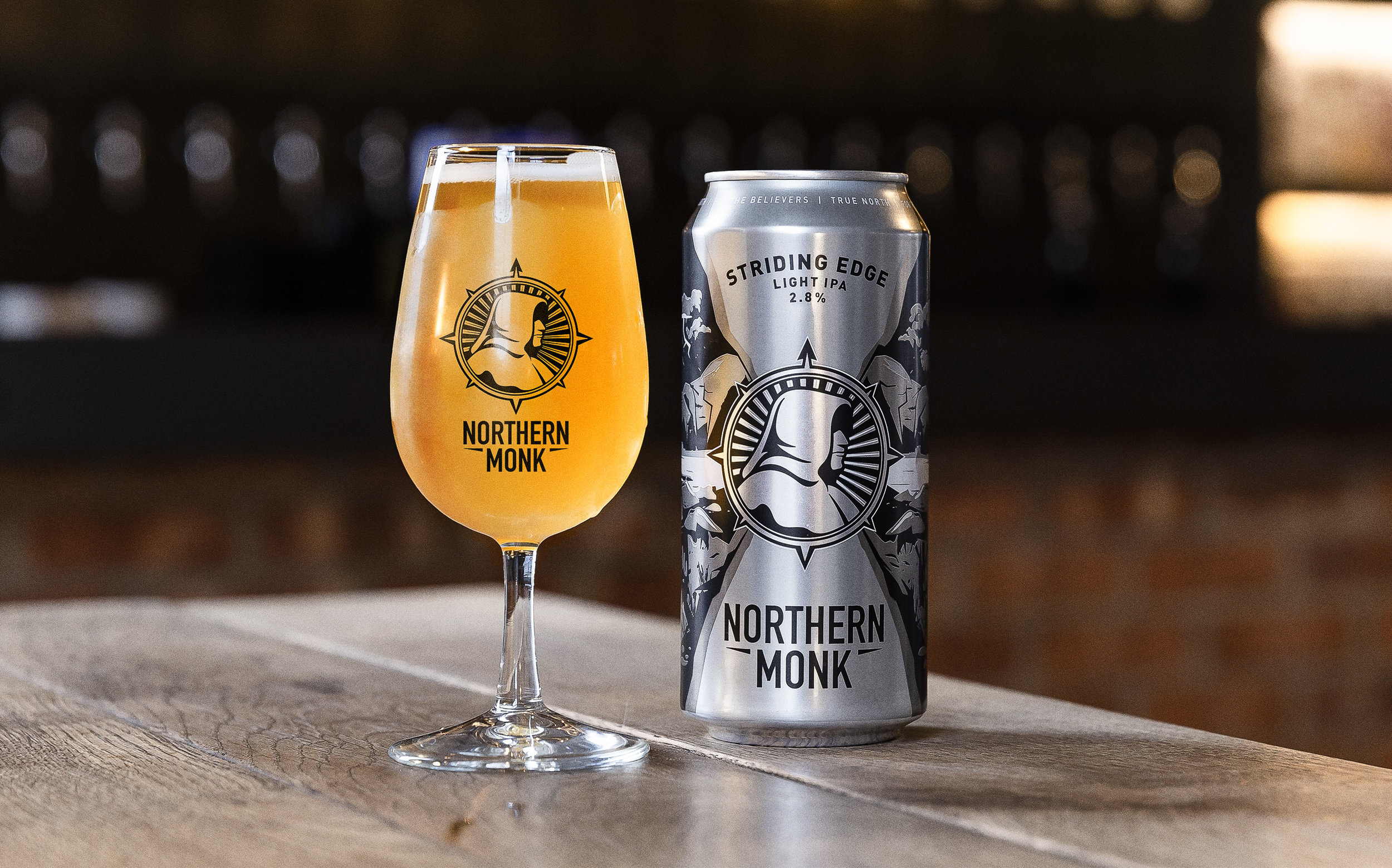 Northern Monk Strengthen Their Position as Cultivators of Craft Brewing with a Brand Refresh by Robot Food / World Brand Design Society
