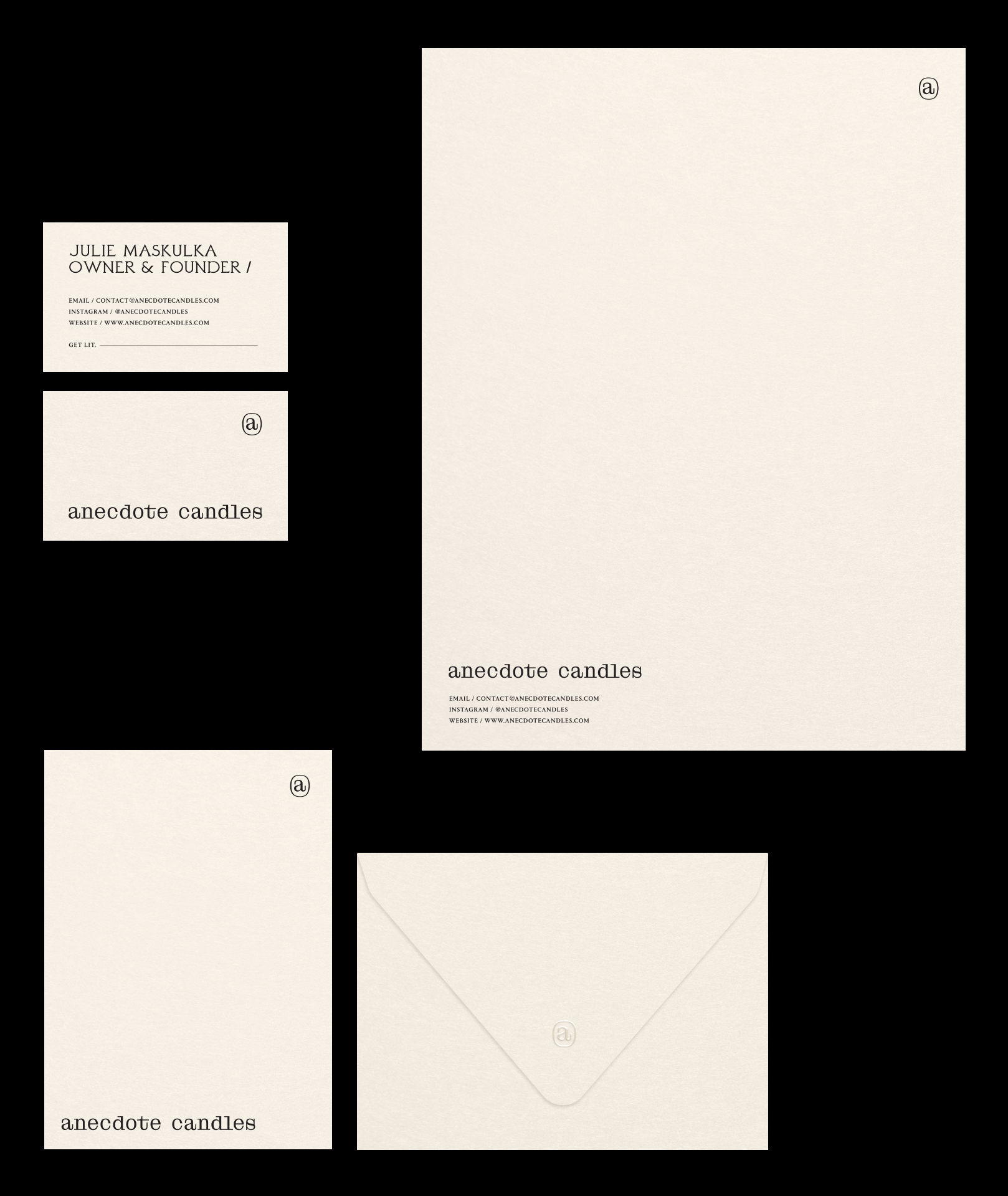 Packaging Design for Candles with a Story / World Brand Design Society
