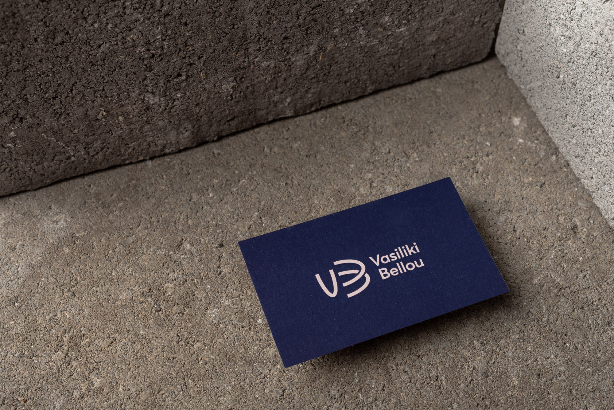 Visual Identity Design for Vasiliki Bellou / World Brand Design Society