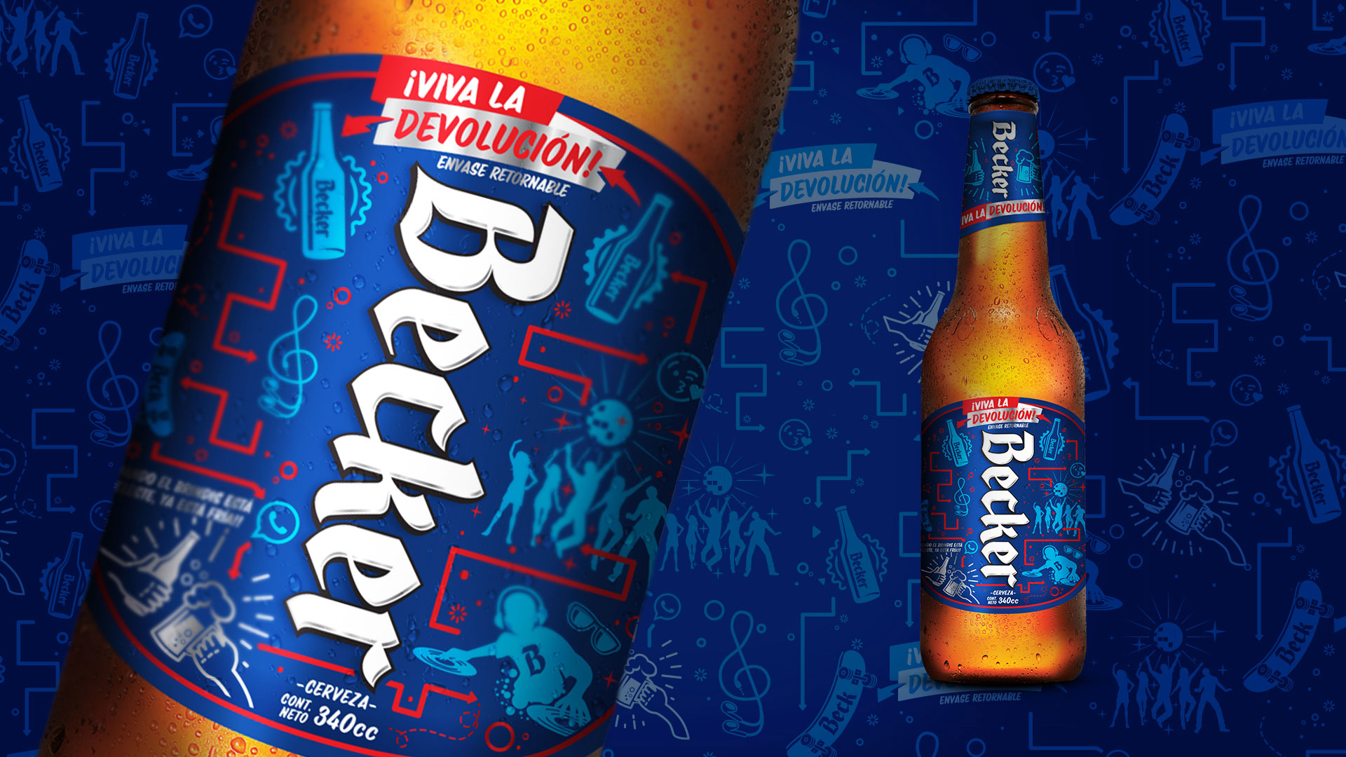 ¡Viva la Devolución! Becker Beer / World Brand Design Society