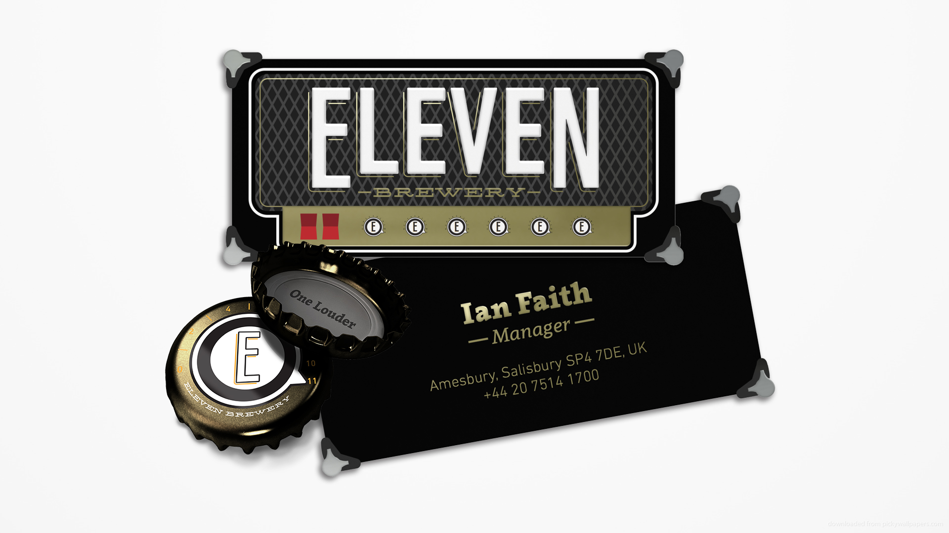 These Go to Eleven Beer (Concept) / World Brand Design Society