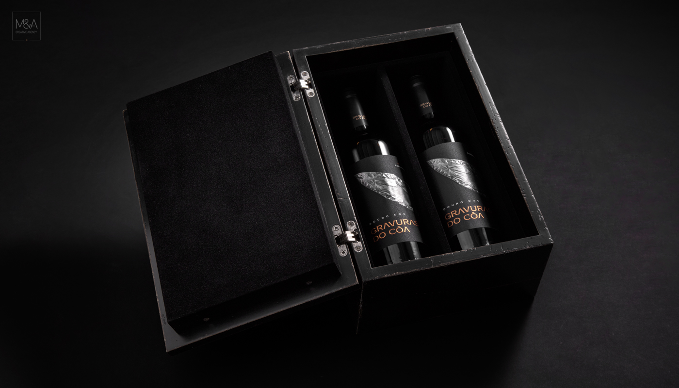 Wine and Prehistoric Rock Art in The Côa Valley Packaging Design / World Brand Design Society