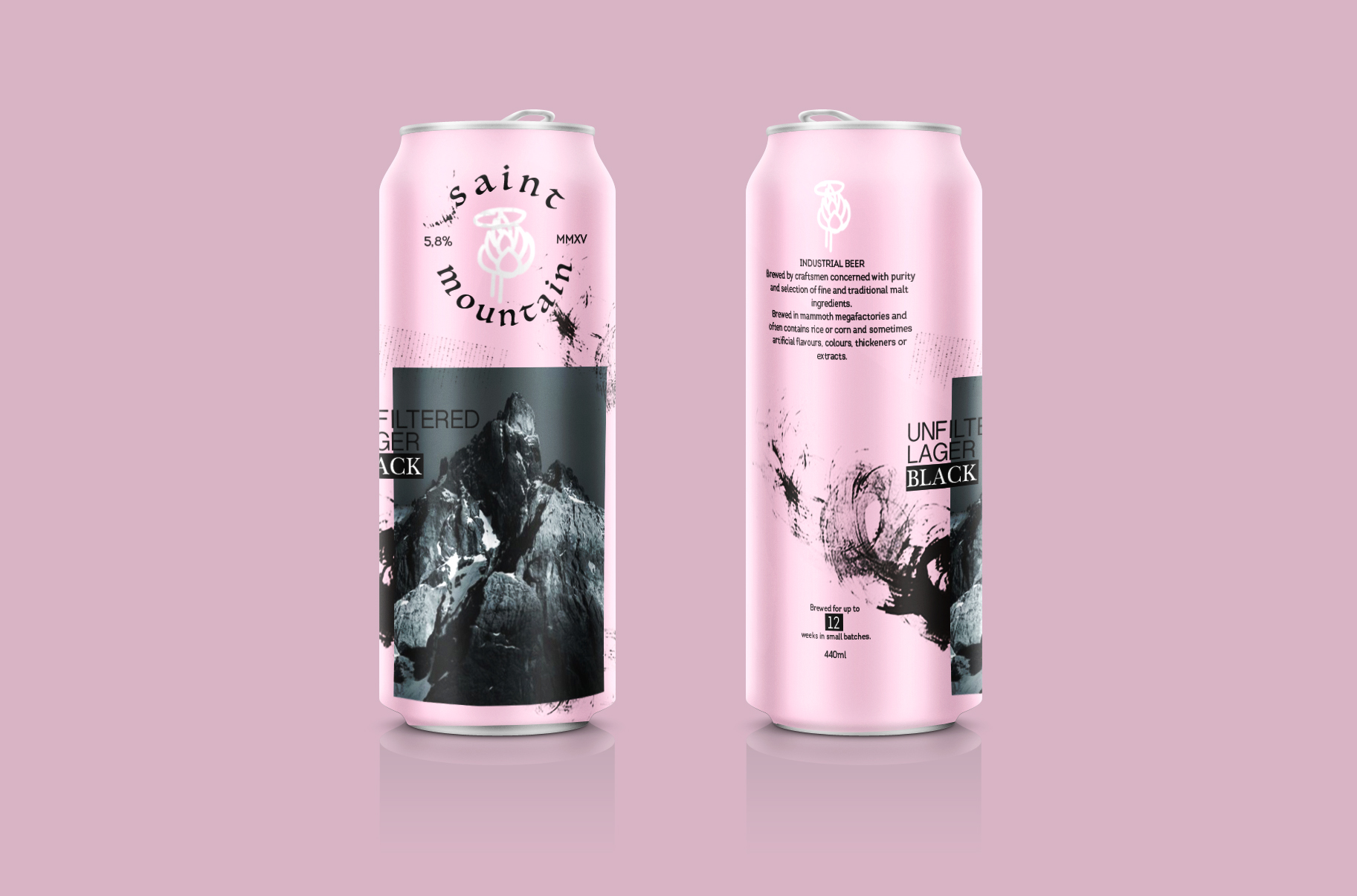 Branding and Packaging Design for a Coming Beer Brand / World Brand Design Society