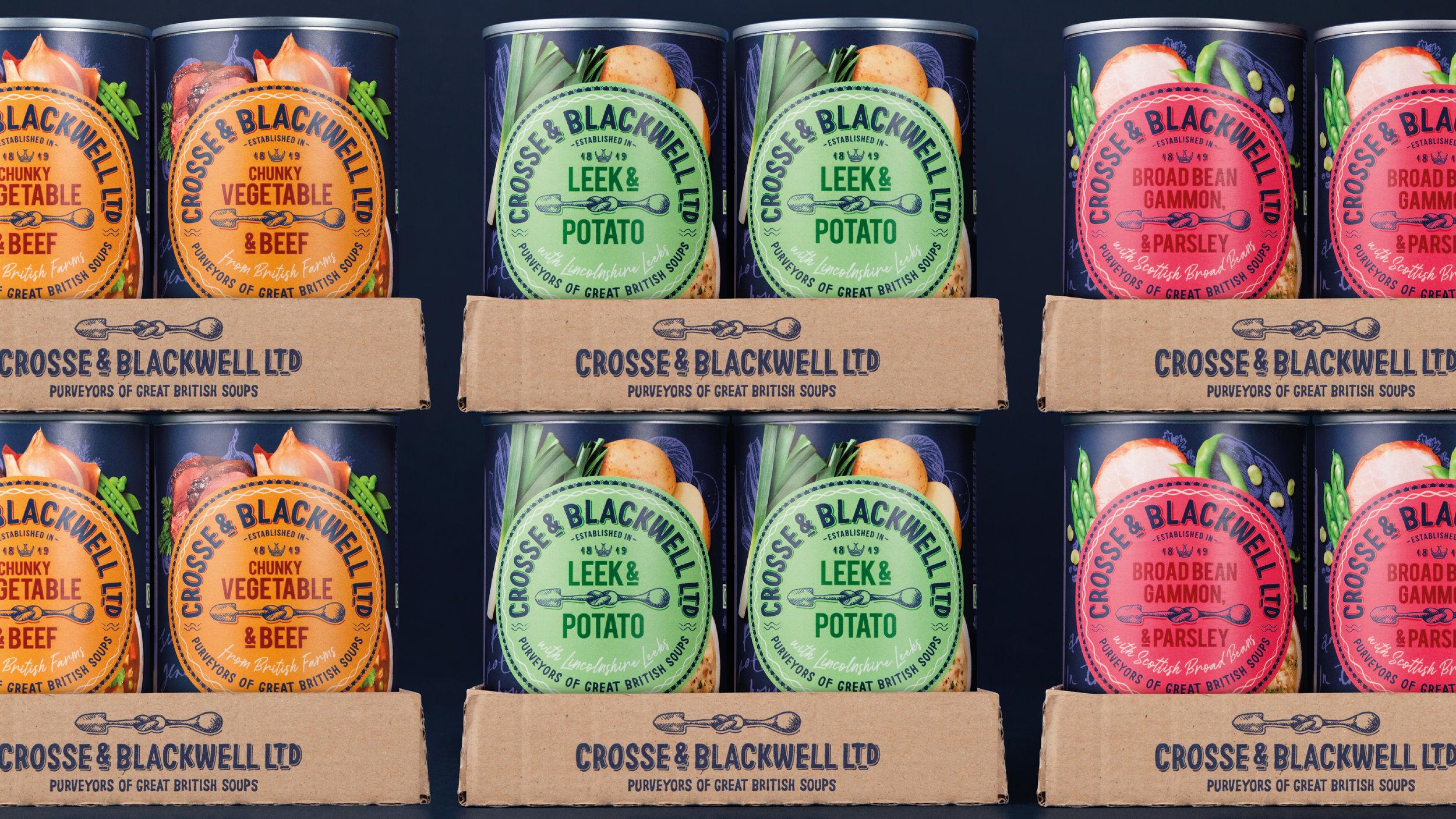 Rebrand for Crosse & Blackwell Celebrates the Perfect Partnership / World Brand Design Society