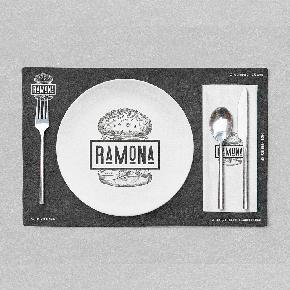 Ramona Fast Food Bistro Rebranding / World Brand Design Society