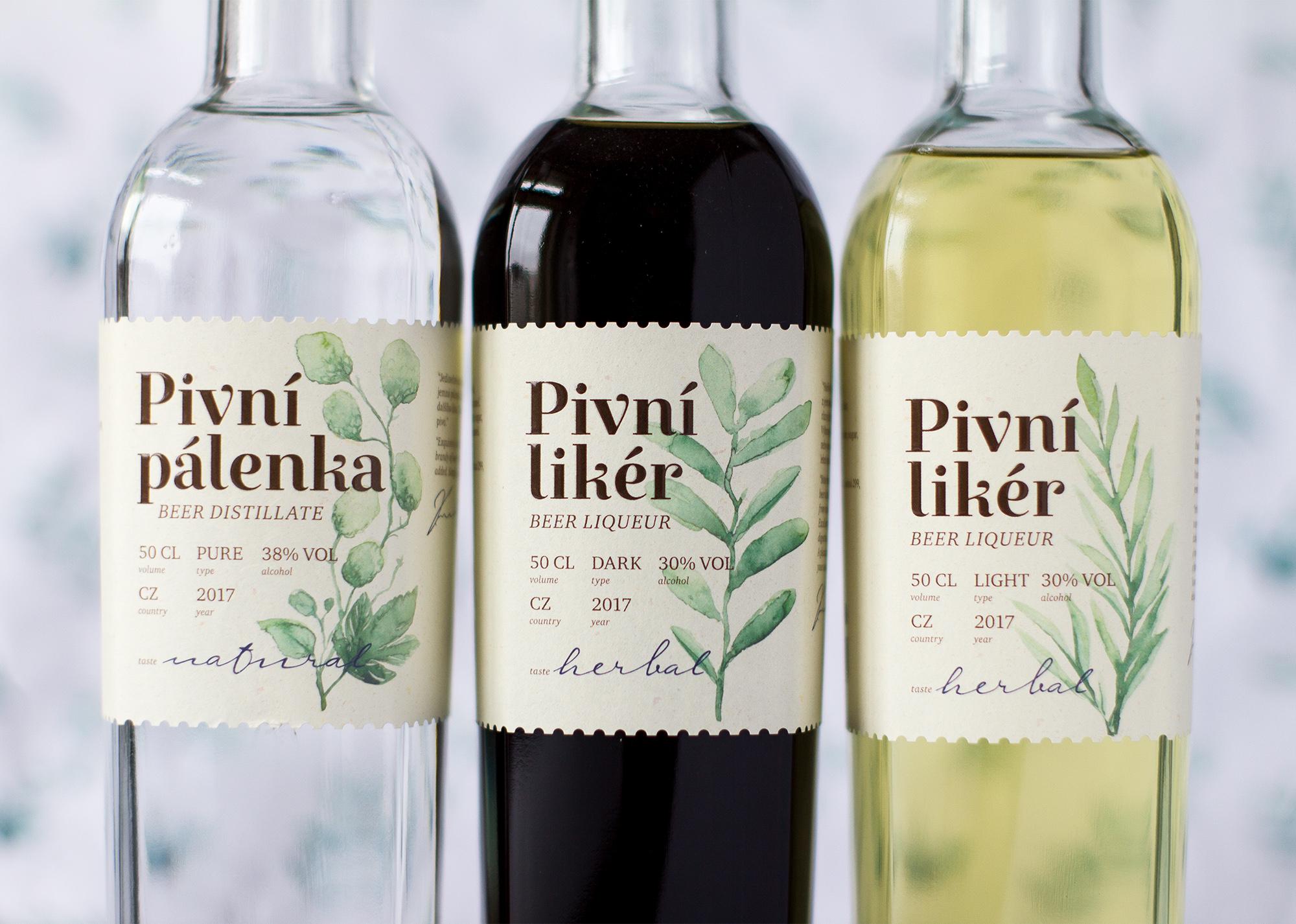 Beer Distillates Packaging Design / World Brand Design Society