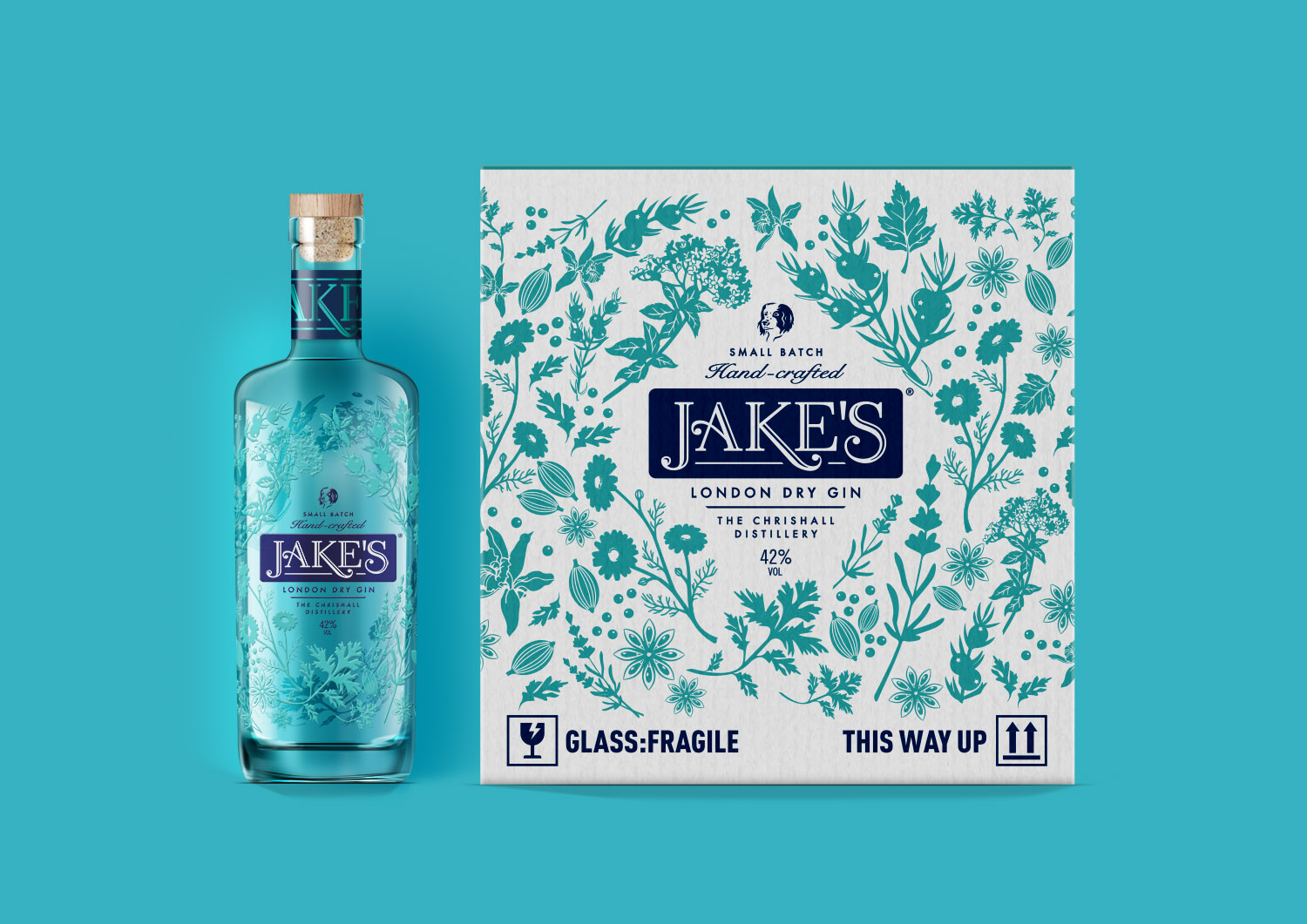 Packaging Design: Exquisite Hand-Made Gin / World Brand Design Society