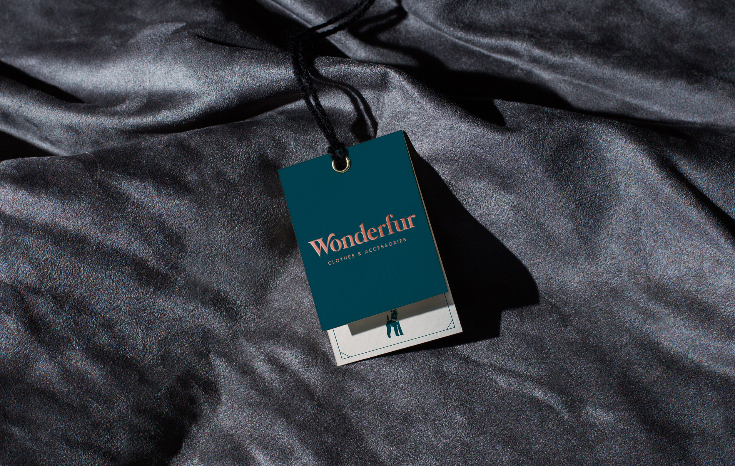 Brand and Packaging Design for Dogs' Clothes Brand Wonderfur / World Brand Design Society