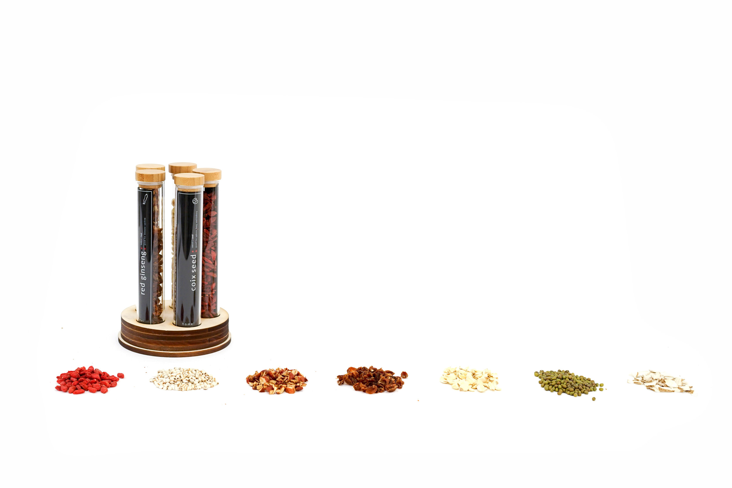 hómei: Dried Herbs For Chinese Soup / World Brand Design Society