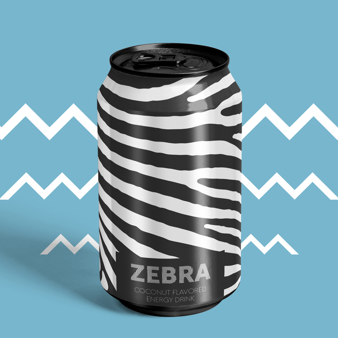 Drink Packaging Design for Energy Drink Company Based in Turkey / World Brand Design Society