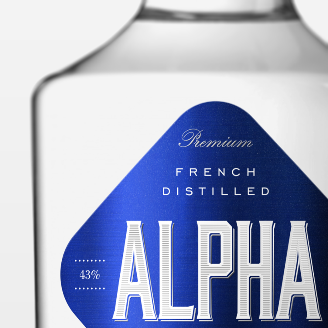 Alpha Gn Label Design / World Brand Design Society