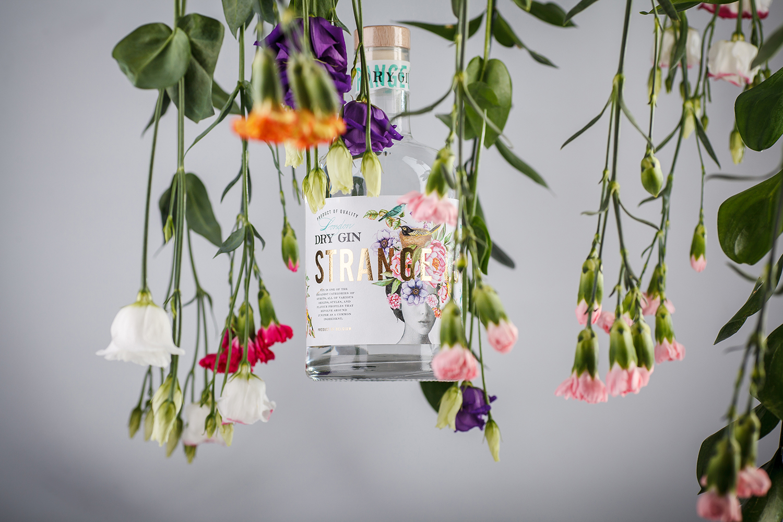 Strange Luve Dry Gin Label Design  / World Brand Design Society
