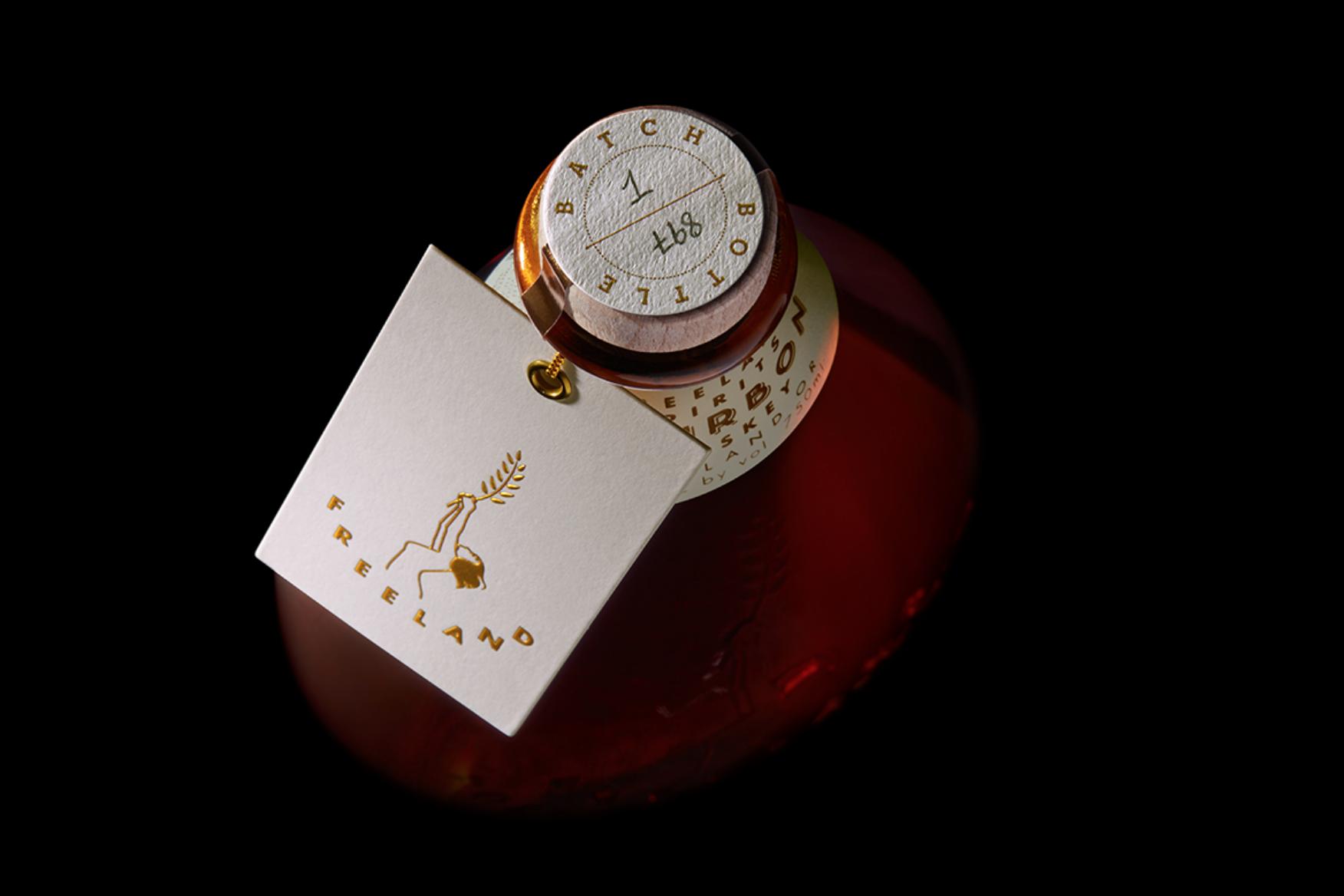 Branding and Packaging for Freeland Spirits, Portland Oregon / World Brand Design Society
