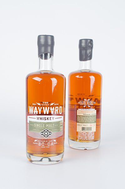American West Coast Whiskey / World Brand Design Society