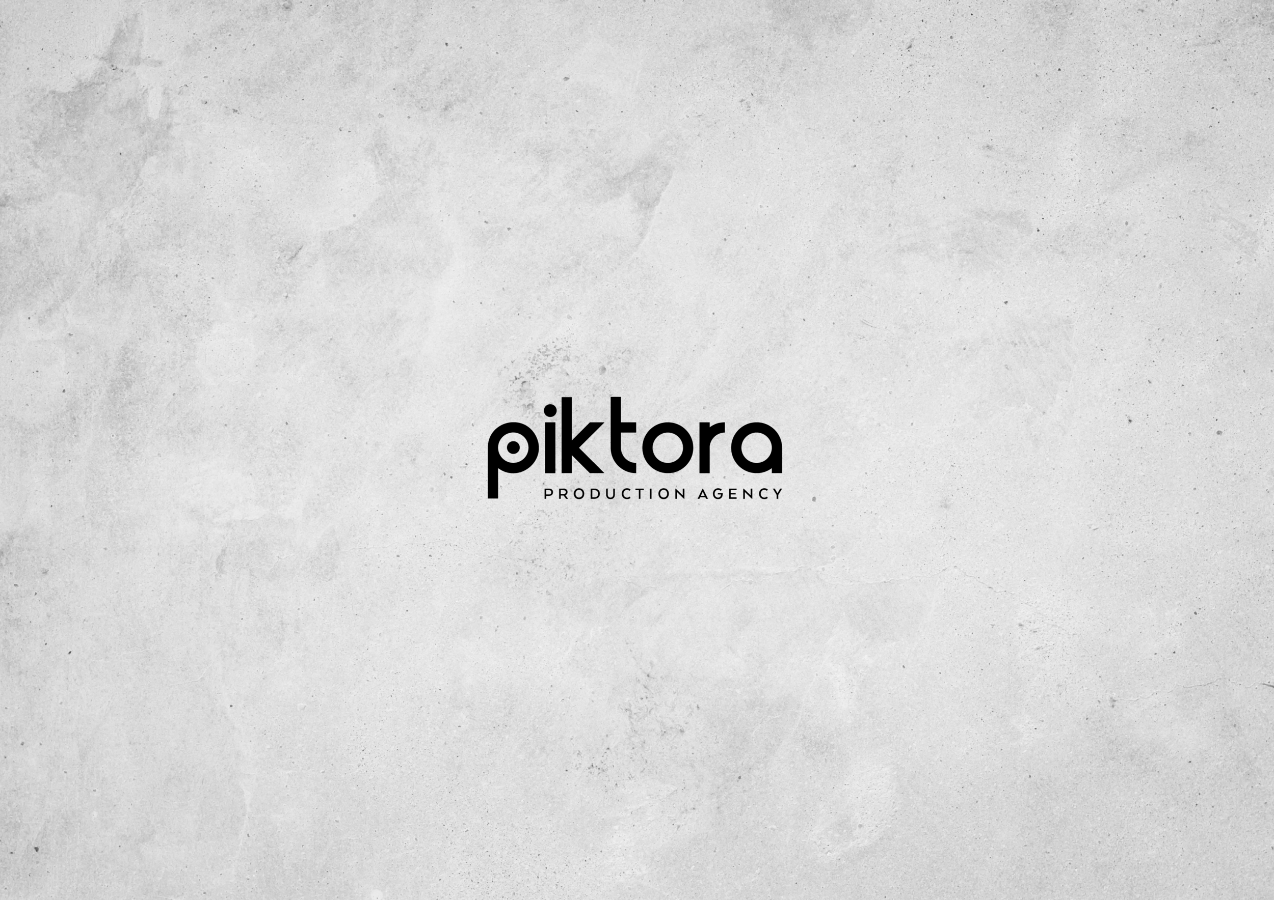 Branding Project for Piktora Production Agency / World Brand Design Society