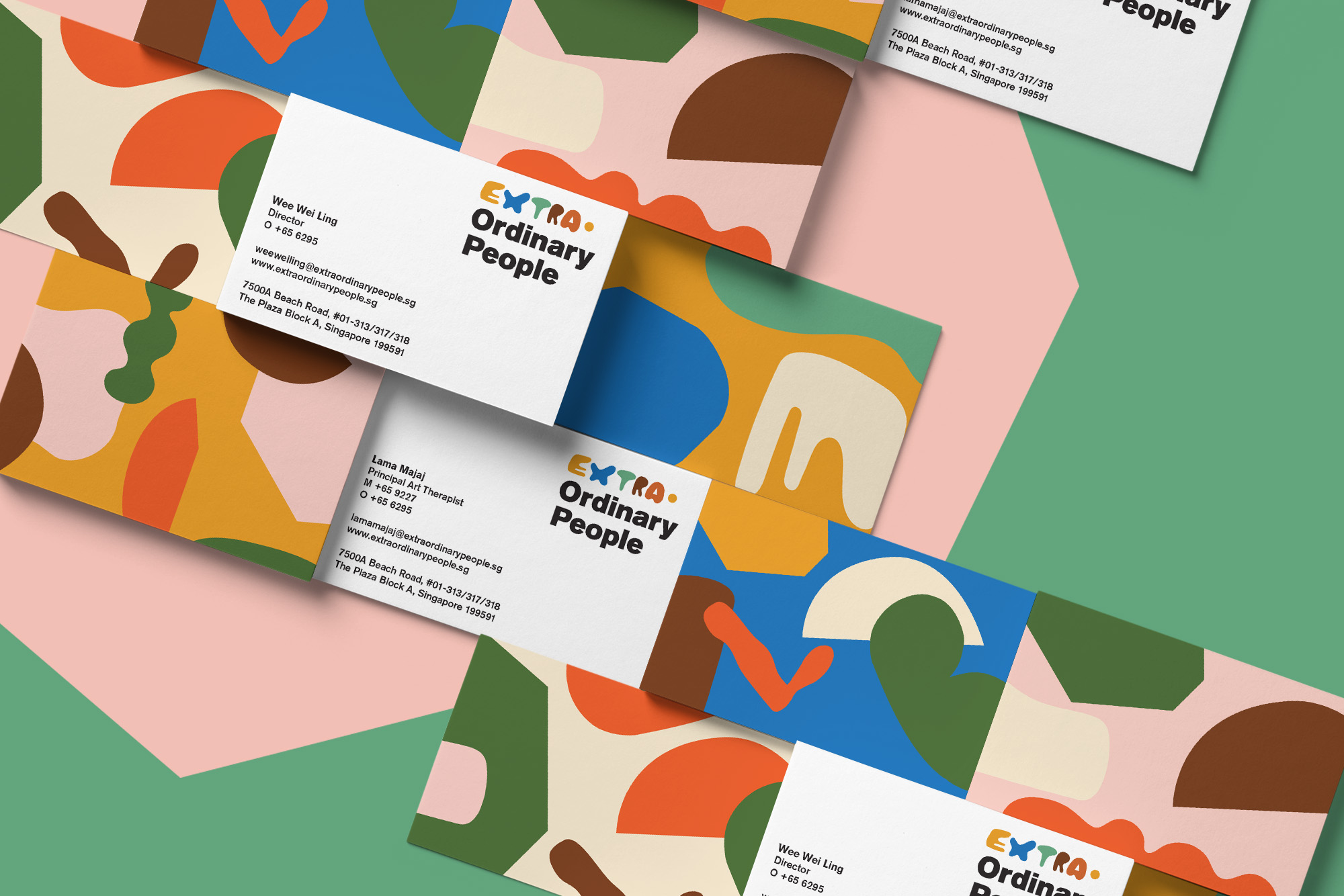 Brand Identity for Non-Profit Special Needs Organisation / World Brand Design Society