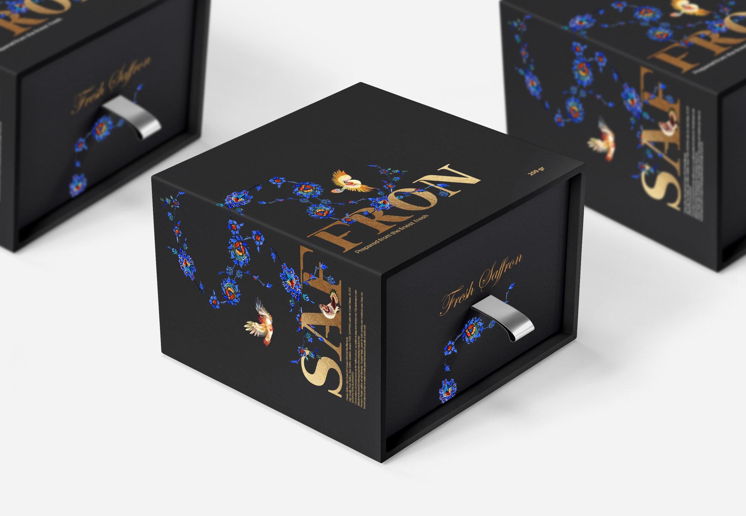Bendi Saffron Packaging Design / World Brand Design Society