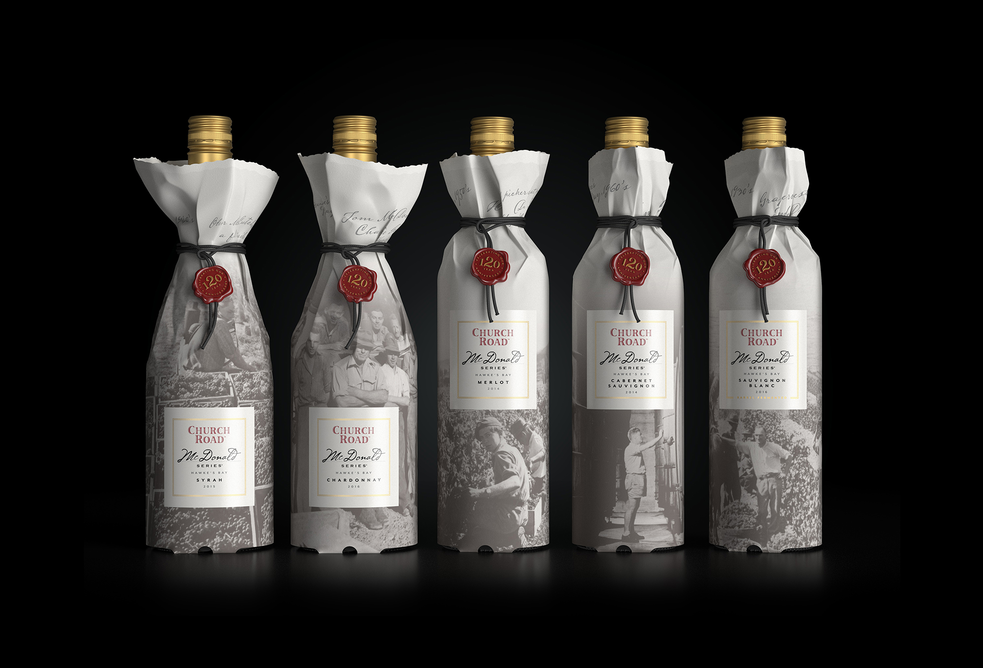 Packaging to Celebrate 120 Years of Church Road Winery in
