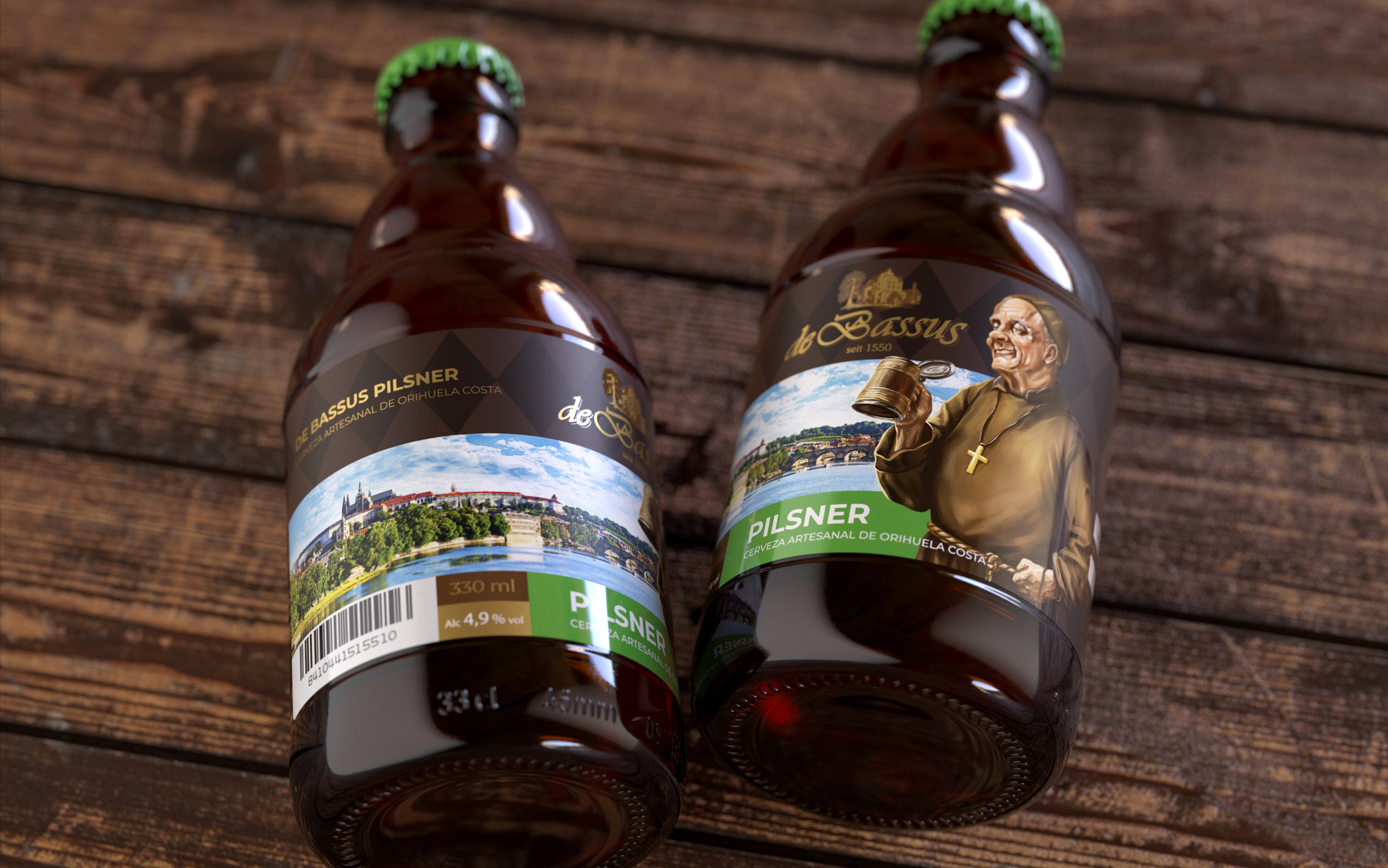 De Bassus, Authentic Bavarian Brewing Traditions in Spain / World Brand Design Society