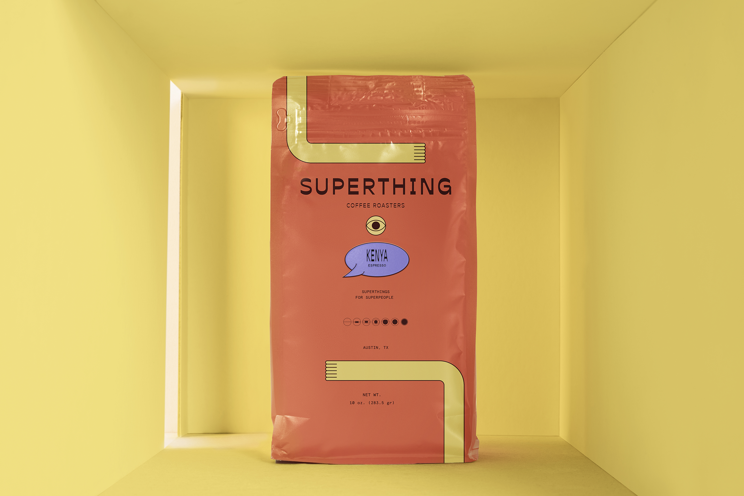 Superthing Coffee Shop Brand and Packaging Design / World Brand Design Society