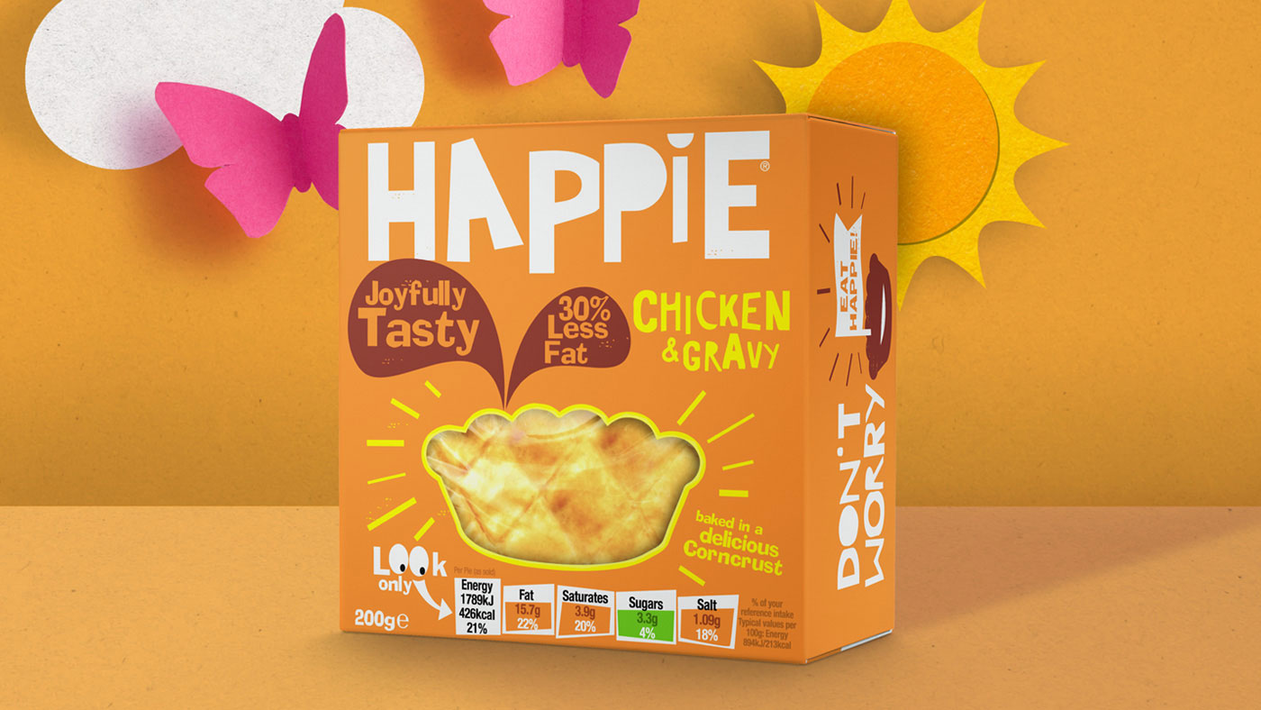 Happie Pie Packaging Project / World Brand Design Society