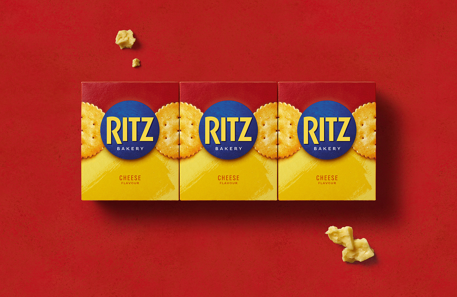 A More Permissible Ritz Relaunches with Contemporary New Packaging by Bulletproof / World Brand Design Society