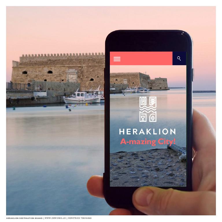 Heraklion City Tourism Branding Award / World Brand Design Society