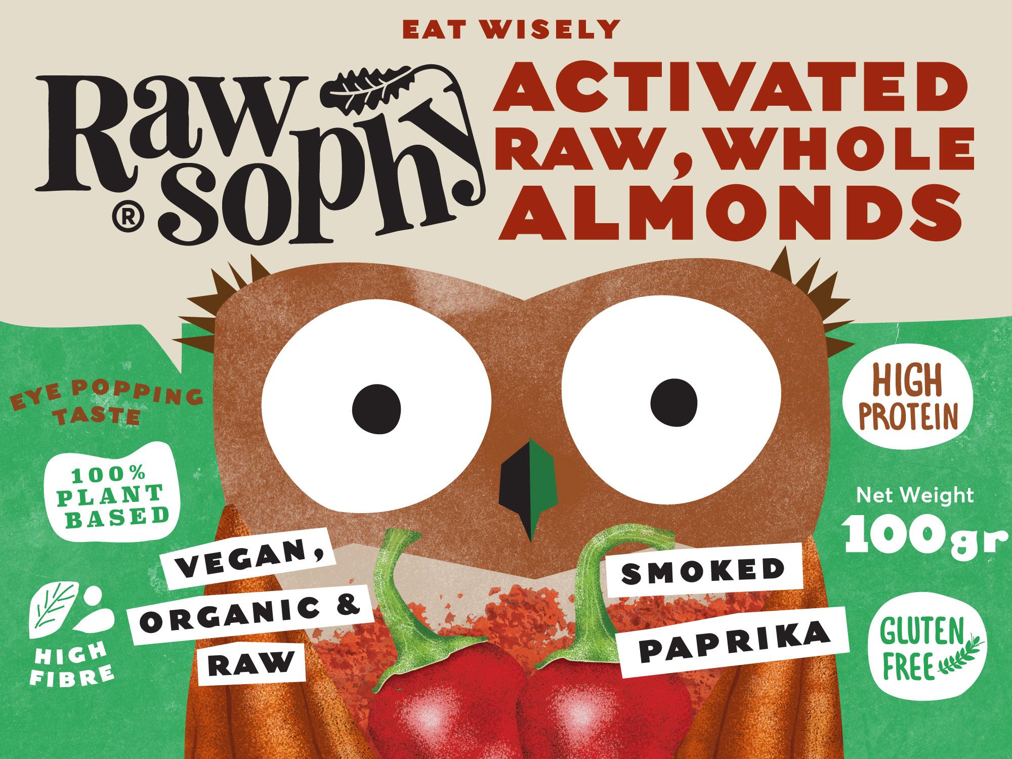 Rawsophy Eat Wisely / World Brand Design Society