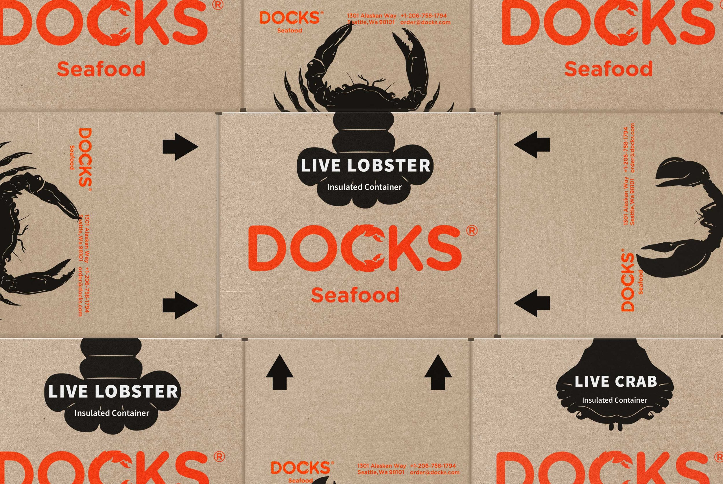 Corporate Branding for Seattle Based Seafood Distribution Company / World Brand Design Society