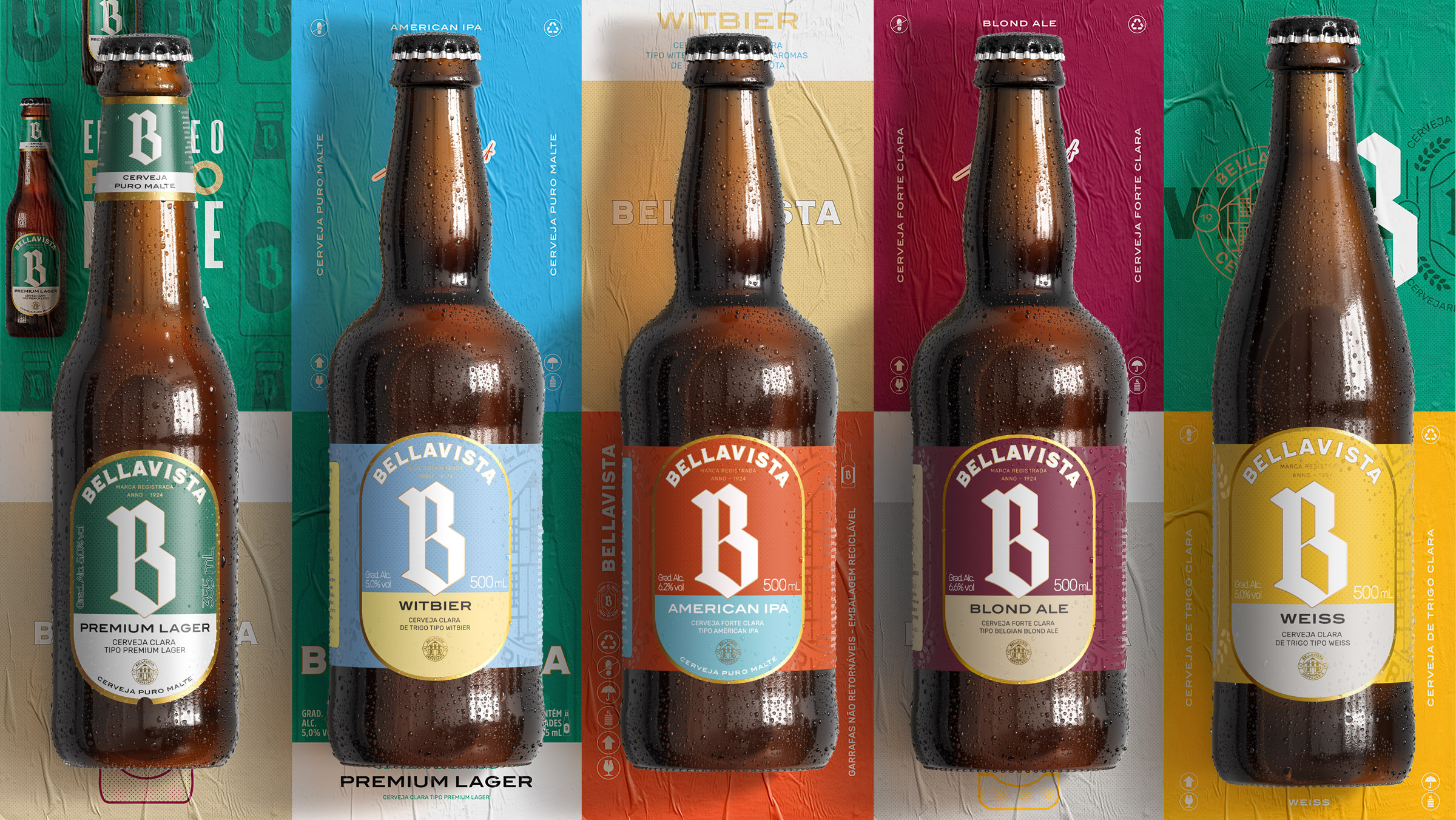Branding and Packaging for Cervejaria Bellavista, a Brazilian Brewing Company / World Brand Design Society