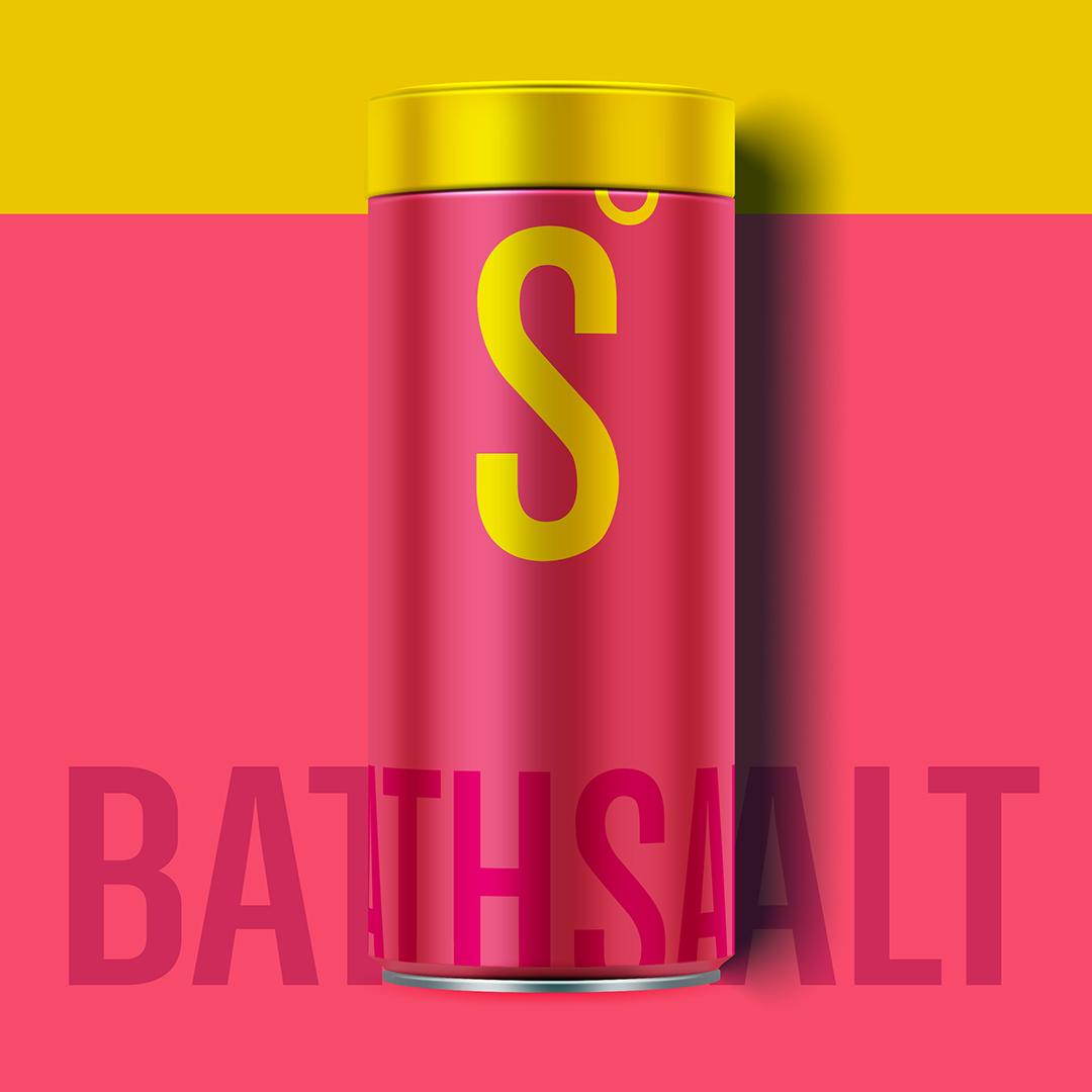 S - Ocean Bath Sea Salt - Zero Plastic Concept / World Brand Design Society