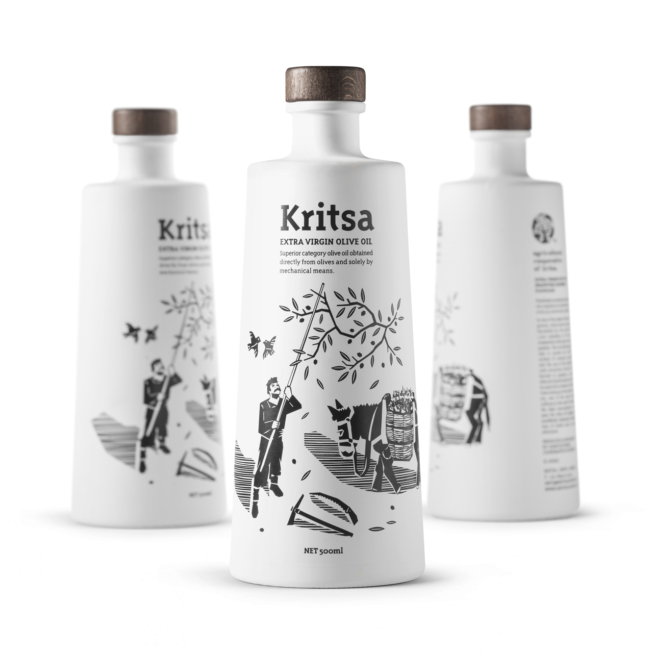 Olive Oil Packaging for Agricultural Cooperative of Kritsa / World Brand Design Society