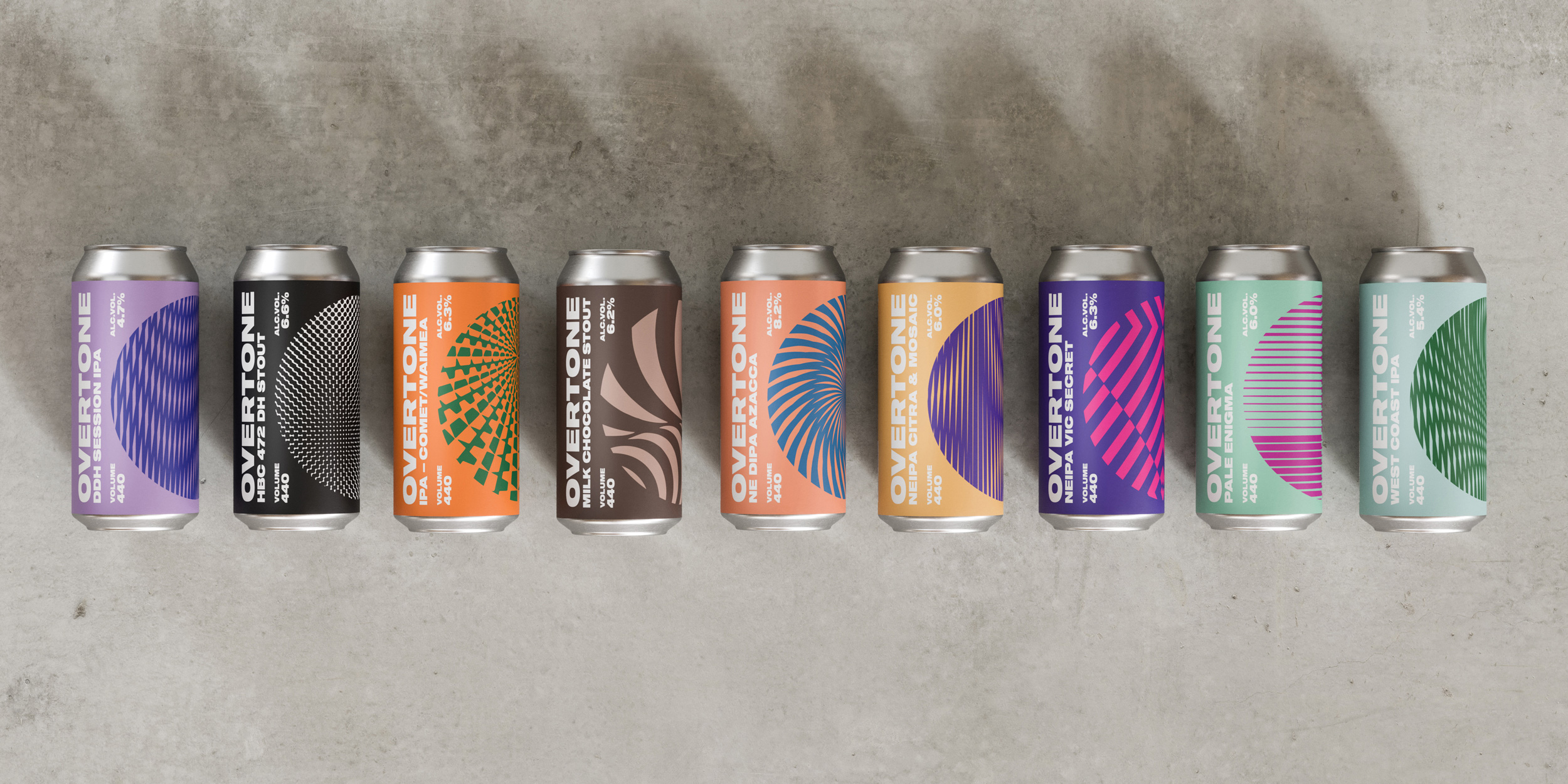 Thirst Craft Put Overtone Into Overdrive With a Club Scene Inspired New Brand / World Brand Design Society
