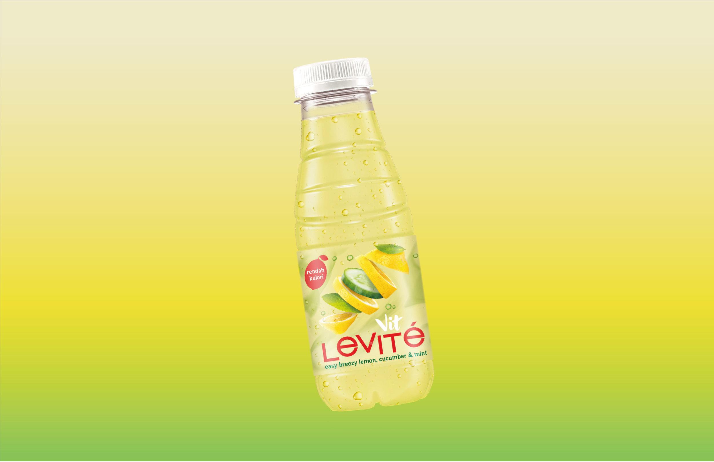 Packaging Rebrand for Vit Levite fruit Waters / World Brand Design Society