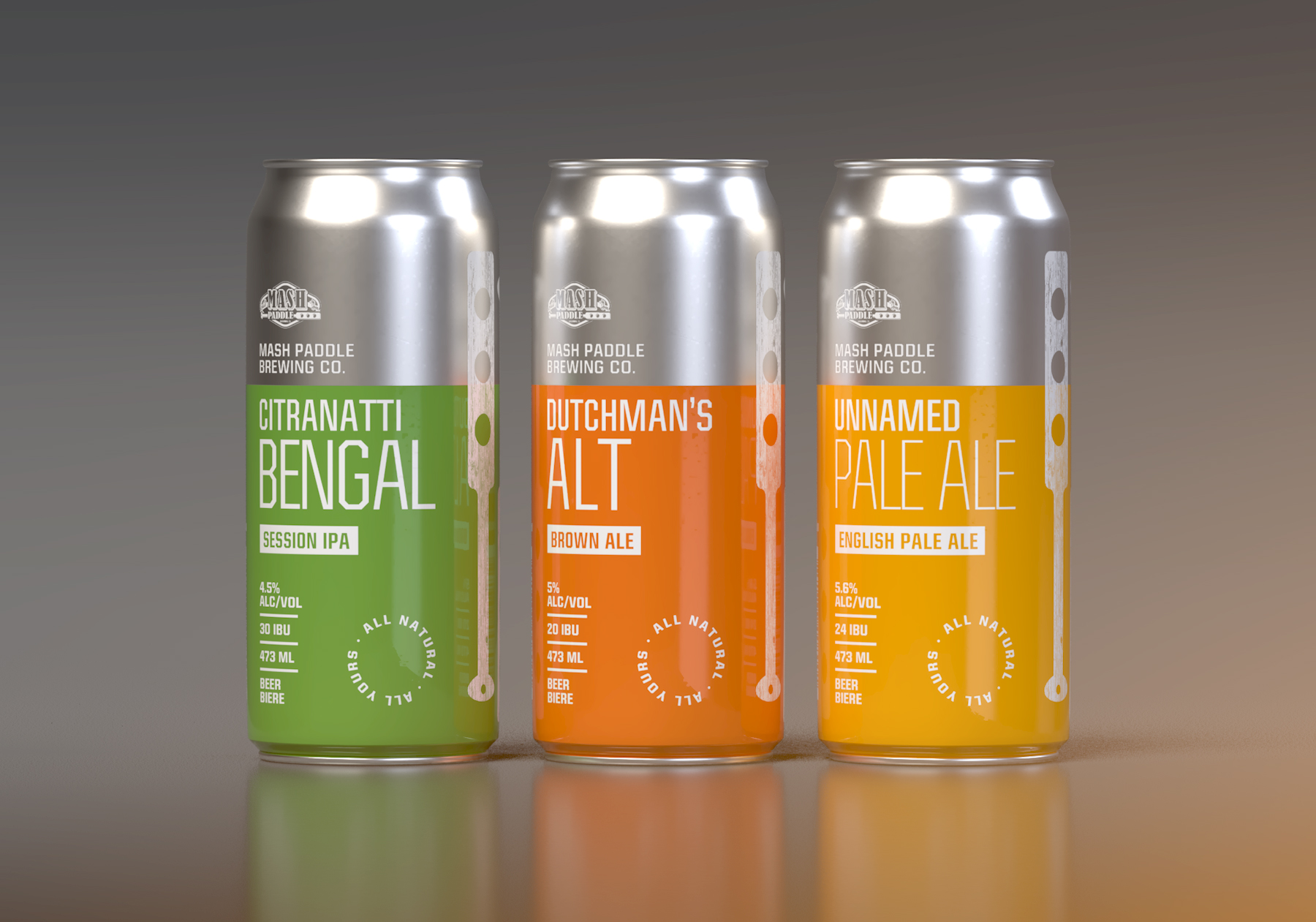 Clean, Minimal Packaging for an Ontario Craft Brewer / World Brand Design Society
