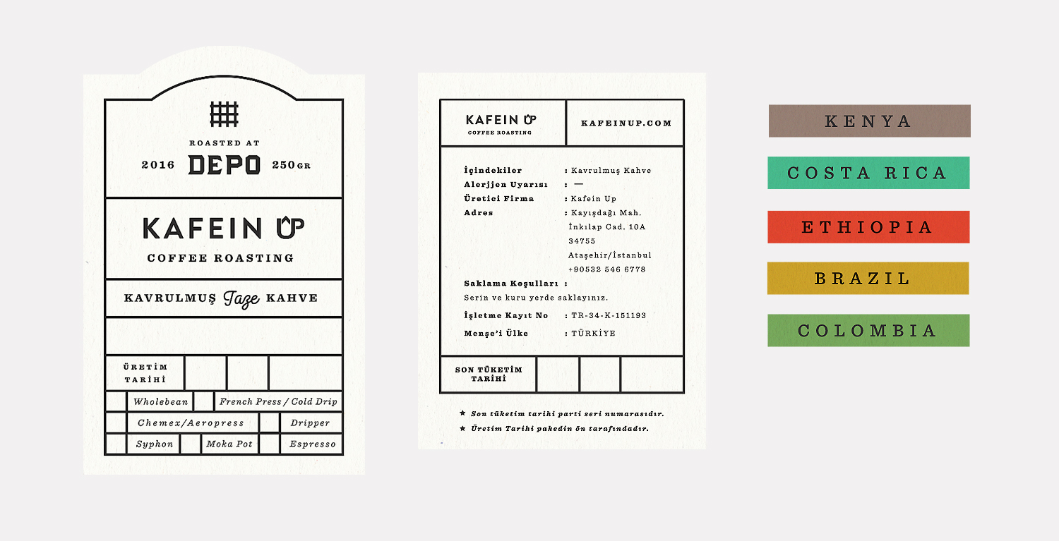 Brand Identity for an Old Storage Basement Converted into a Coffee Roaster / World Brand Design Society
