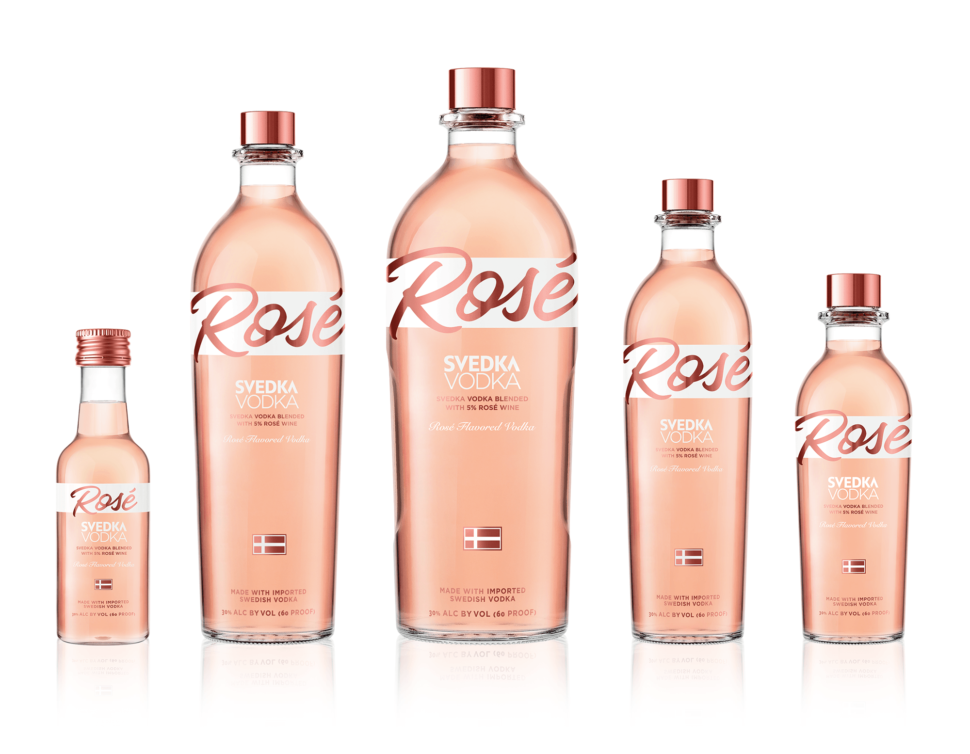 Vodka Clout, Pinky Out: BRIGADE Helps Launch SVEDKA Rosé / World Brand Design Society