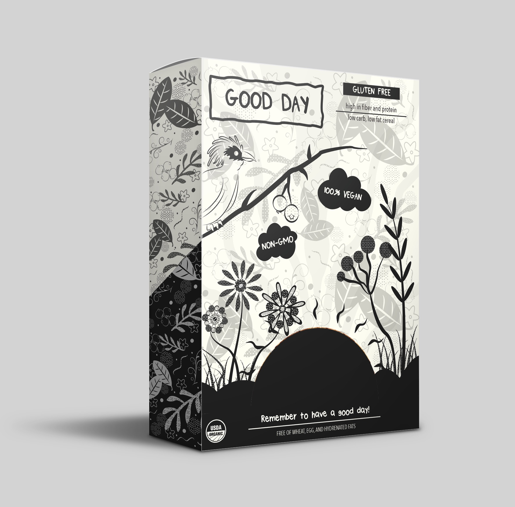 Packaging Design for Good Day Cereal / World Brand Design Society
