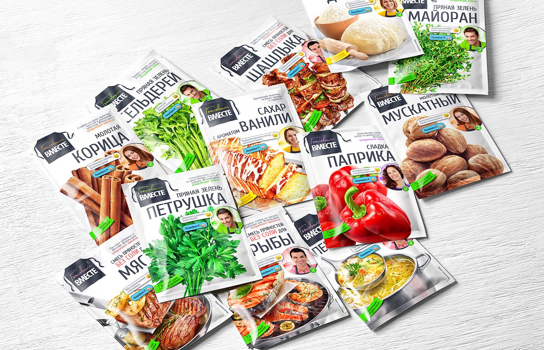 GOTOVIM VMESTE Spices / World Brand Design Society