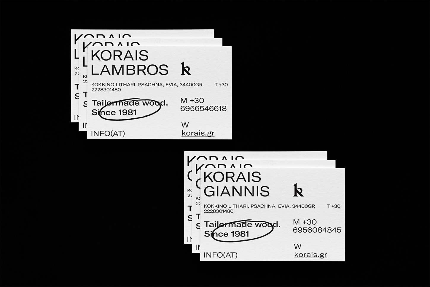 Korais Branding / World Brand Design Society