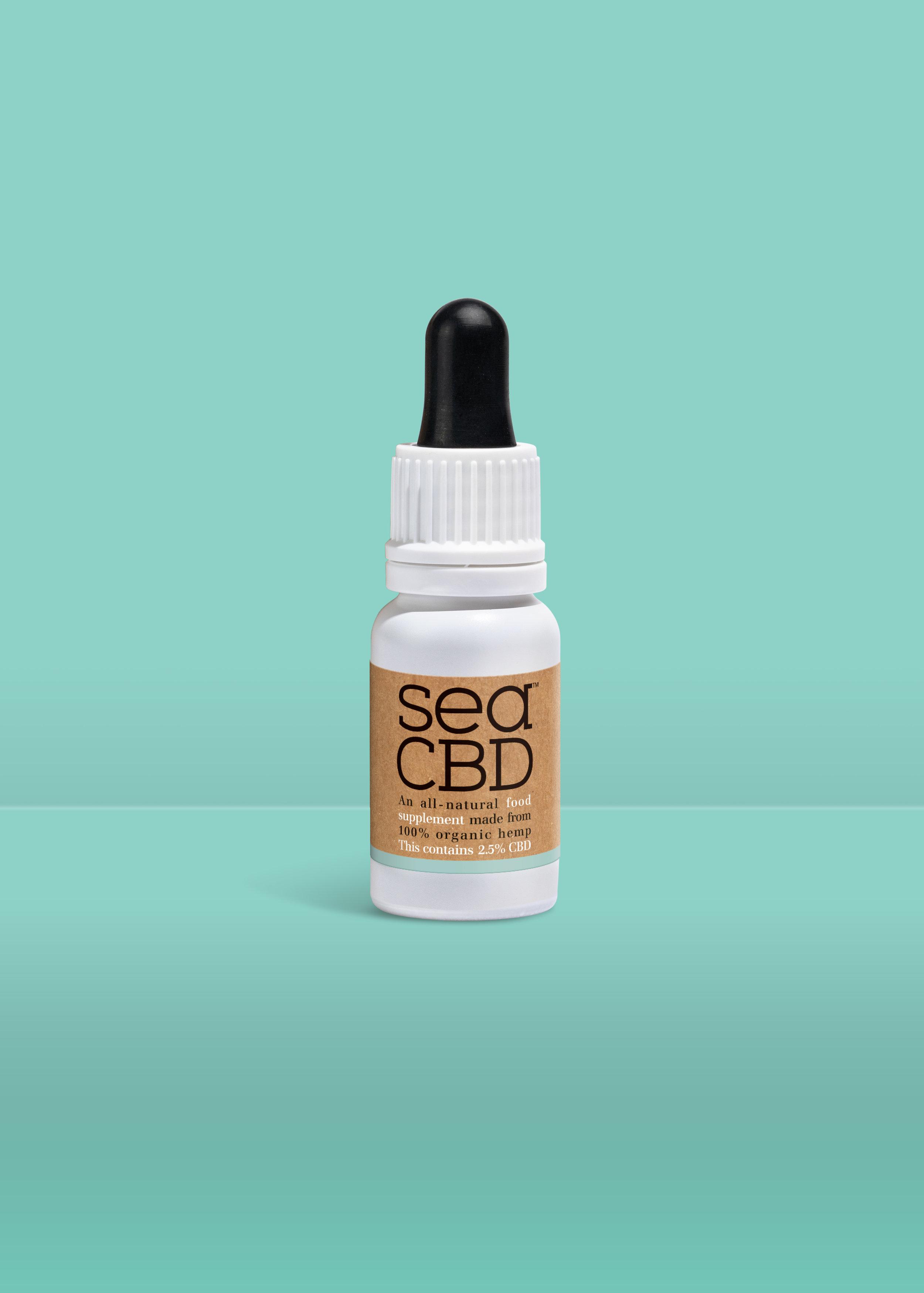 All-New Organic Supplement Sea CBD Unveils Brand Identity by Echo / World Brand Design Society