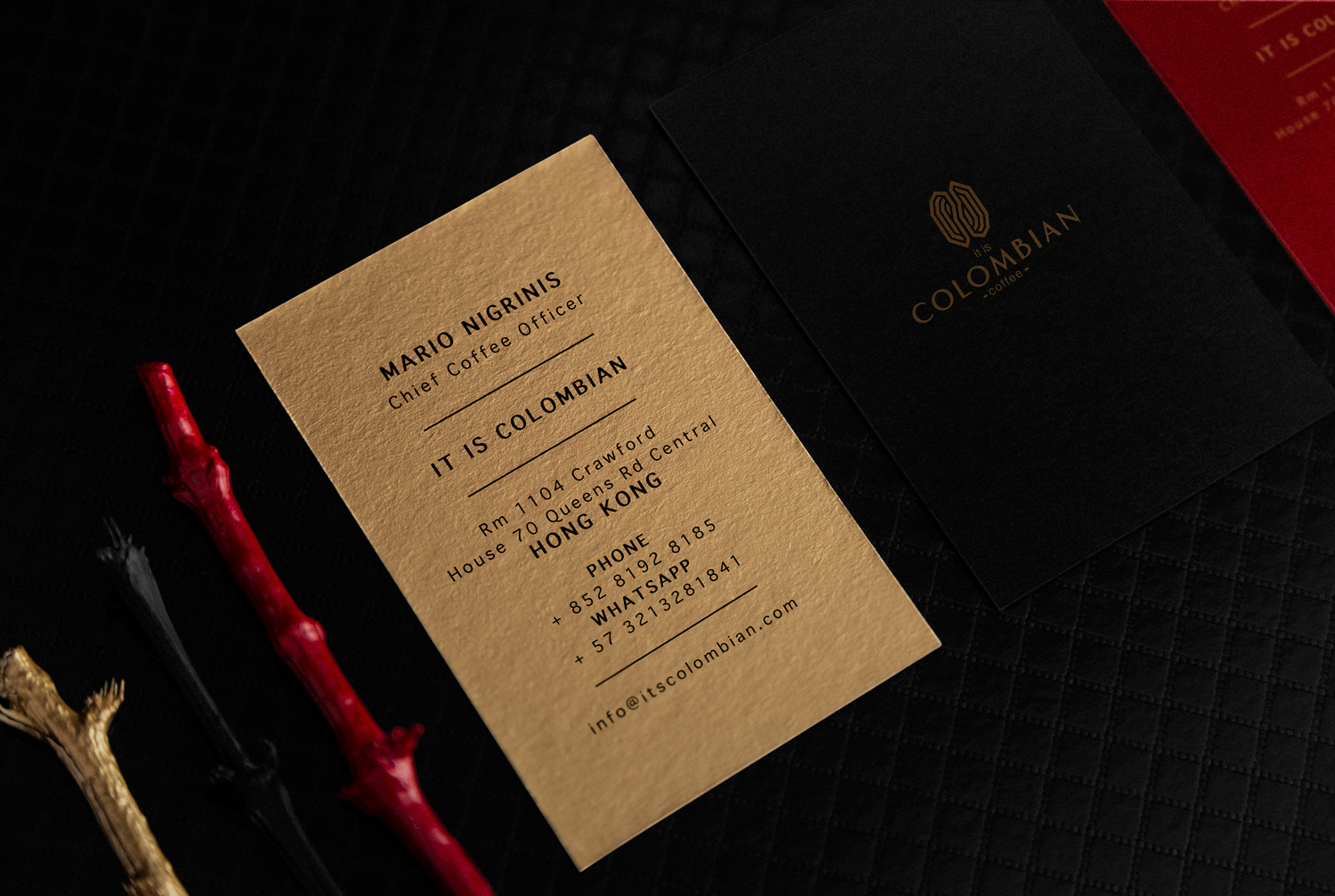 Colombian Premium Artisanal Coffee Brand Design and Packaging Design Commercialized in Hong Kong / World Brand Design Society