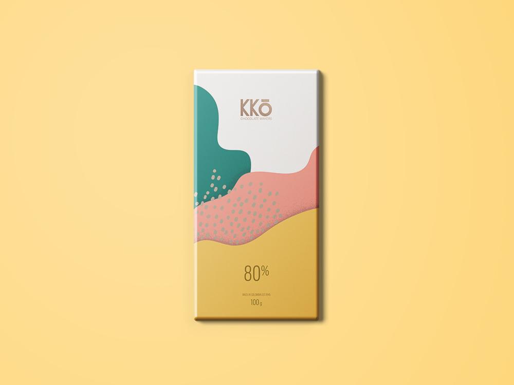 Packaging Design for the KKo Chocolate Brand / World Brand Design Society