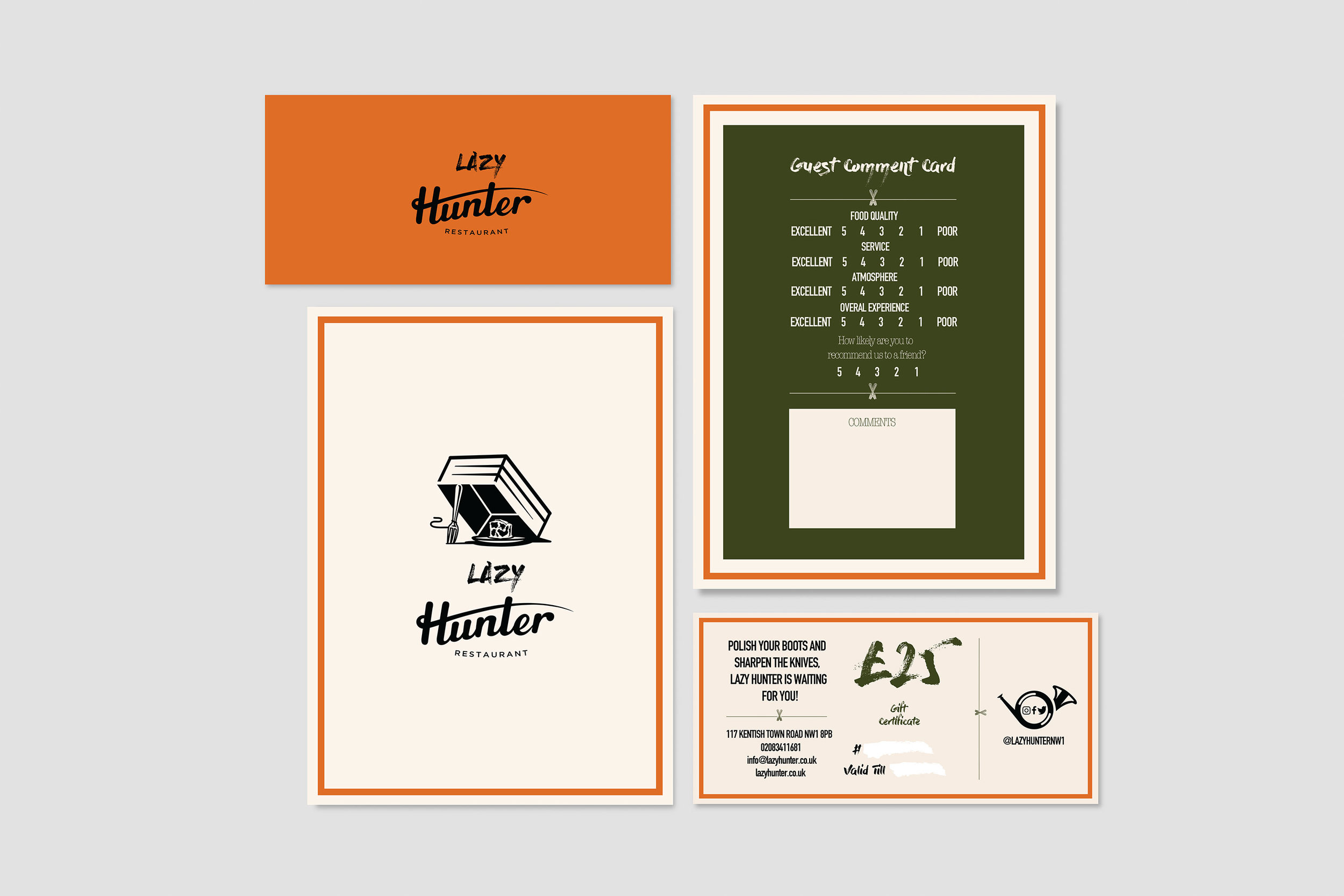 Corporate Branding for a Street Food Restaurant in Kentish Town, London / World Brand Design Society