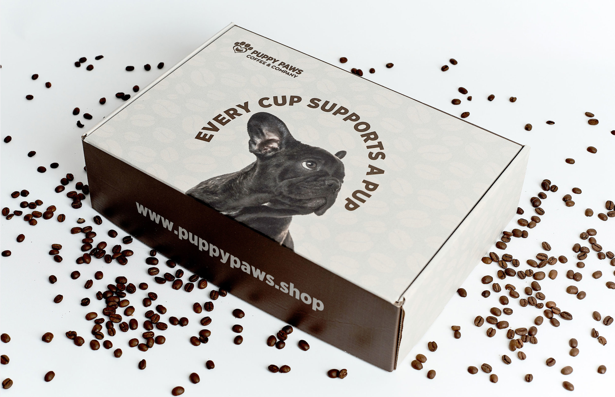 Furtastic Subscription Box and Packaging Design for Puppy Paws Coffee Company / World Brand Design Society