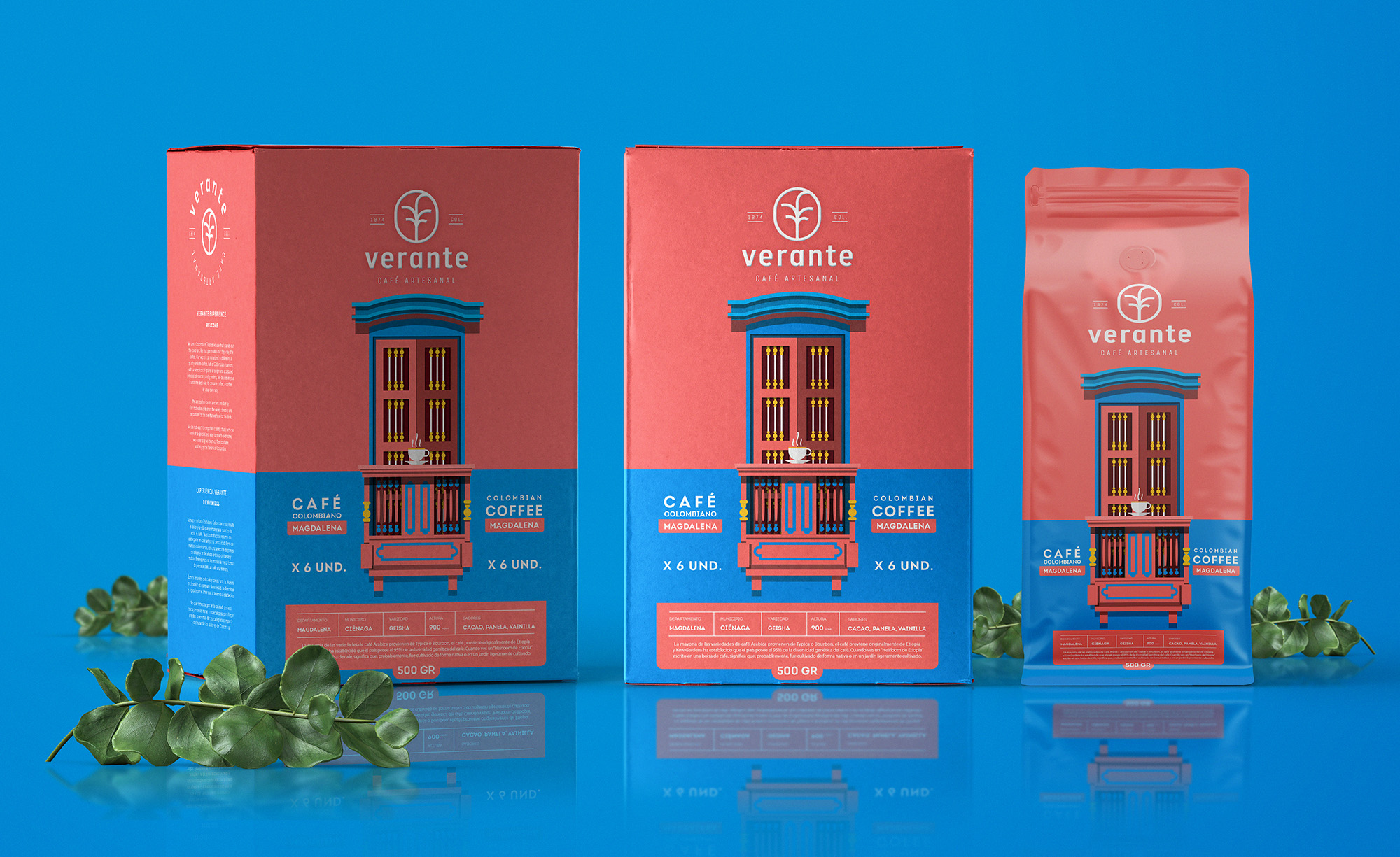 Colourful Brand and Packaging Design for an Independent Coffee Roasted in Colombia / World Brand Design Society