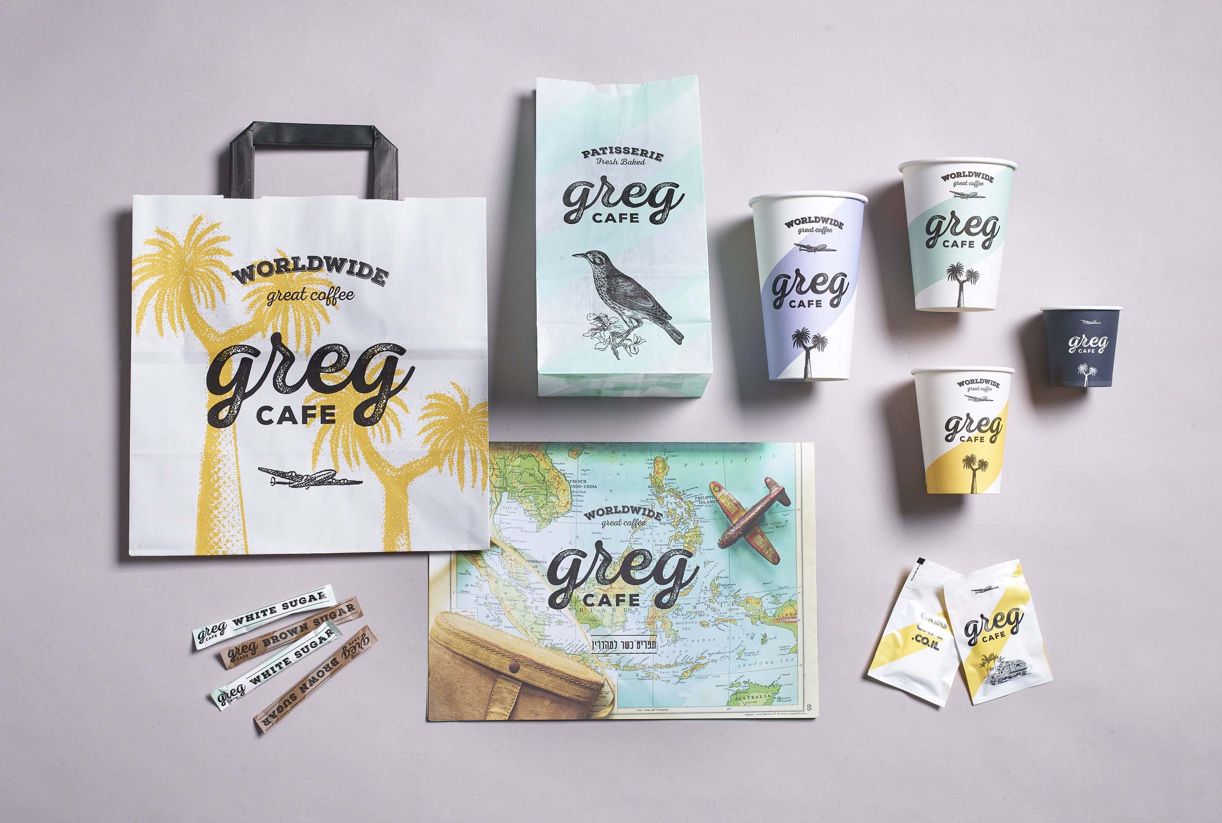 Branding for Greg Cafe, a Chain of Nationwide Coffee Shops / World Brand Design Society