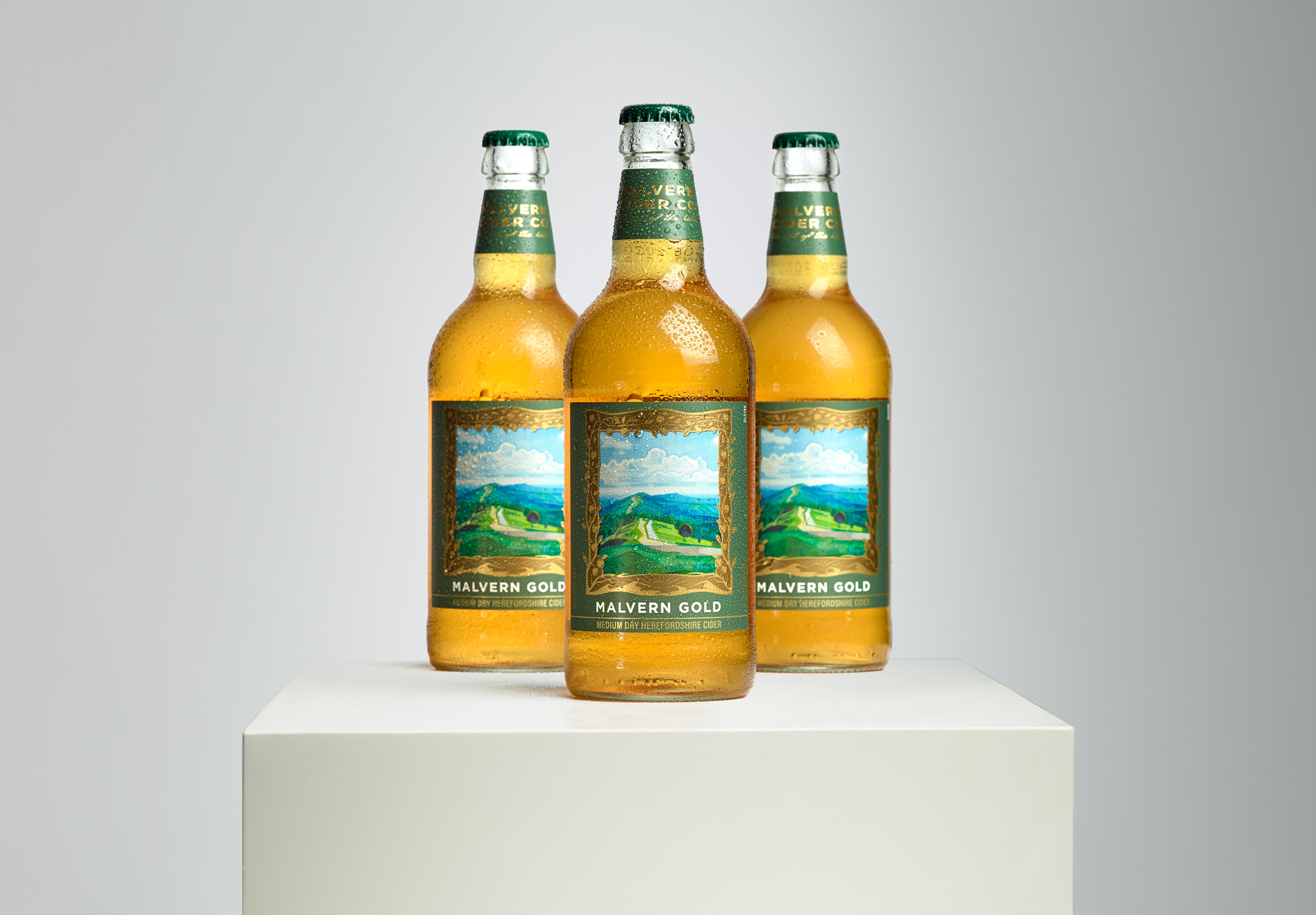 Malvern Cider Co. Art of the Hills / World Brand Design Society