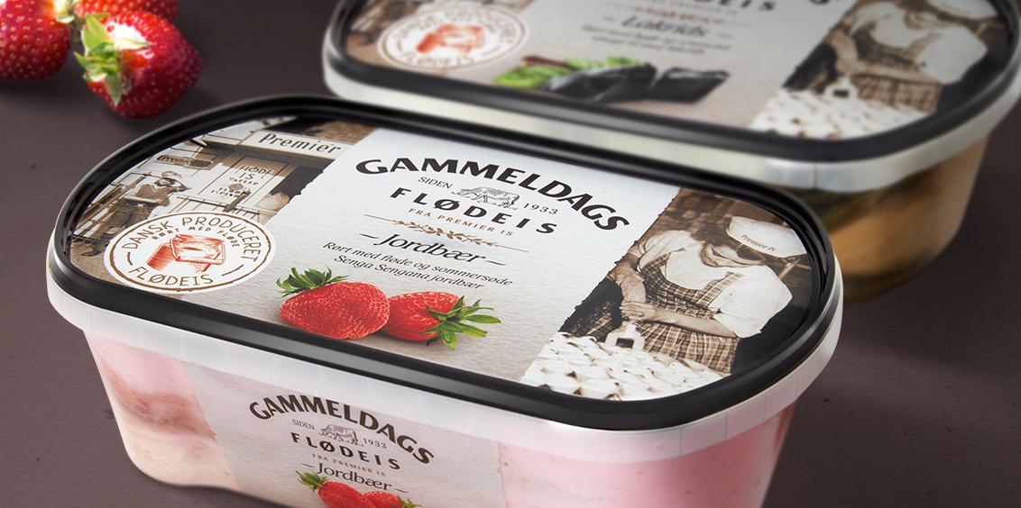 Reviving Legend of Denmark Ice Cream Market / World Brand Design Society